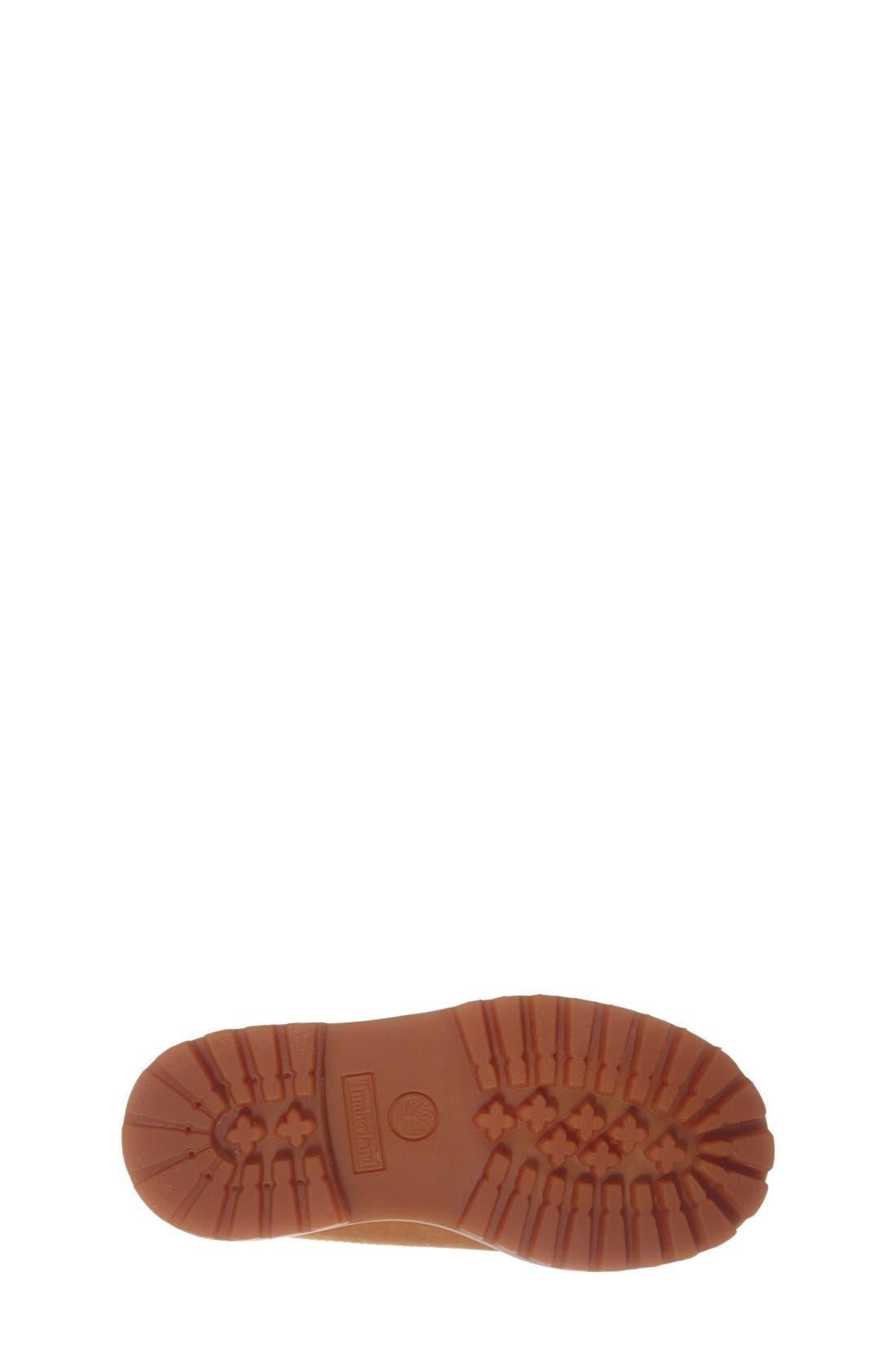 Alternate Image 4  - Timberland '6 Premium' Waterproof Leather Boot (Walker & Toddler)