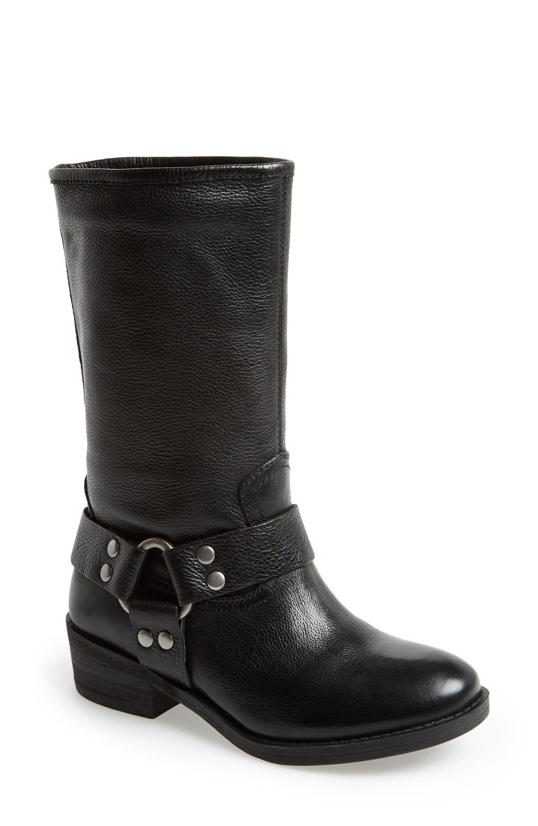 Alternate Image 1 Selected - Lucky Brand 'Rolanda' Leather Harness Boot (Women)