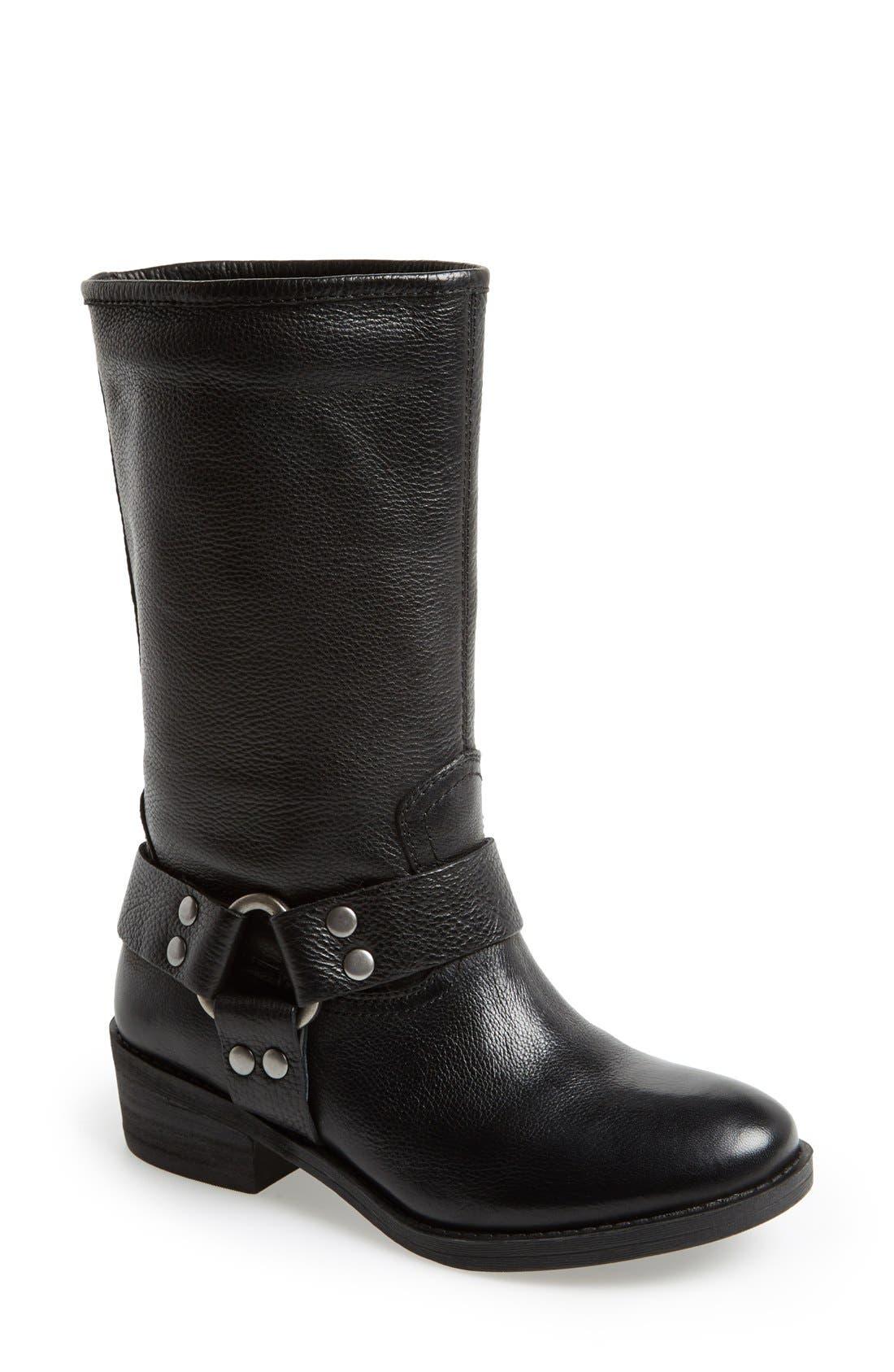 Main Image - Lucky Brand 'Rolanda' Leather Harness Boot (Women)