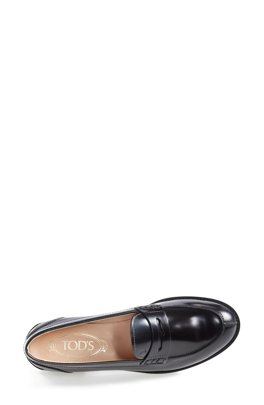 Alternate Image 3  - Tod's 'Classic' Leather Loafer (Women)