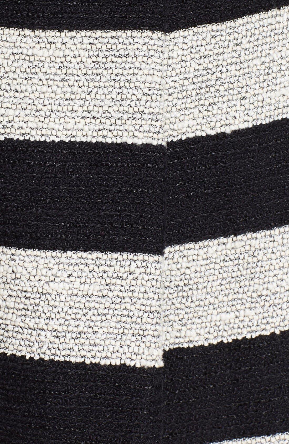 Alternate Image 3  - Alice + Olivia Stripe Tweed Skirt