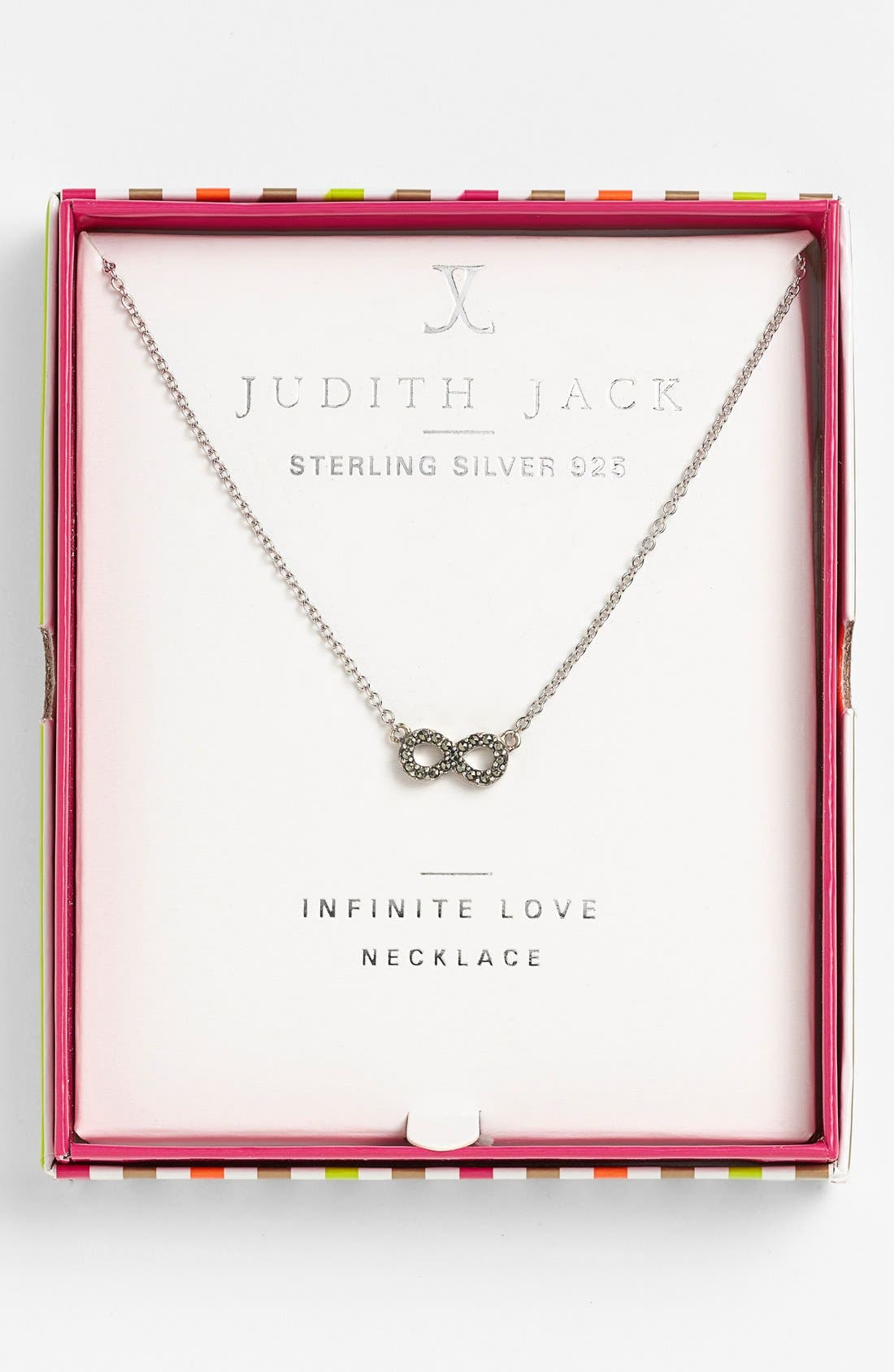 Alternate Image 4  - Judith Jack 'Mini Motives' Reversible Infinity Symbol Pendant Necklace