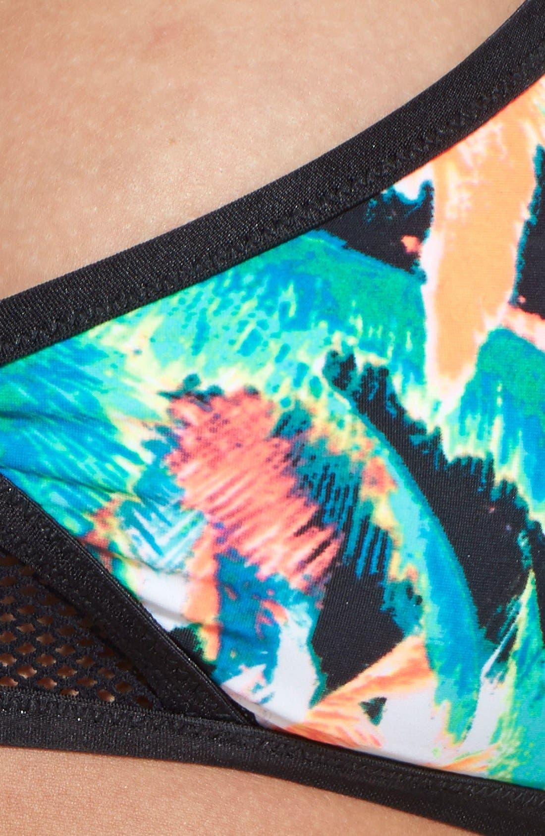 Alternate Image 3  - Volcom 'Tropical Riot' Crop Bikini Top
