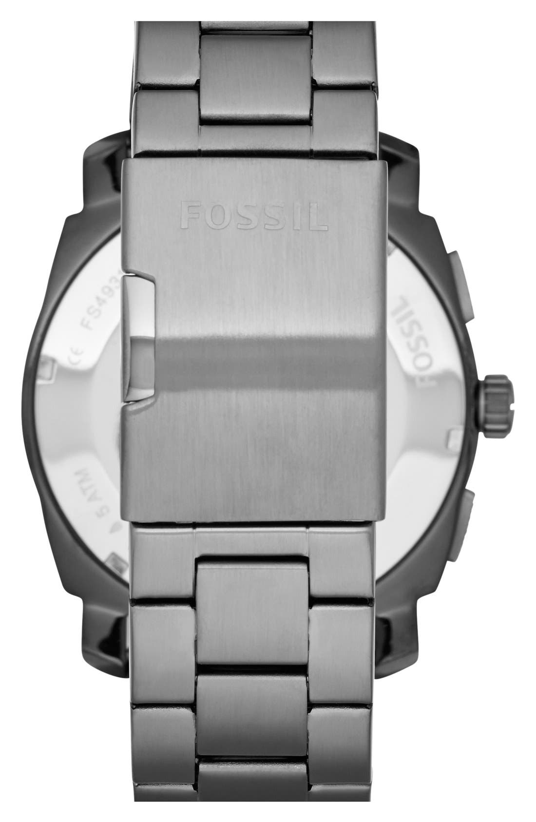 Alternate Image 2  - Fossil 'Machine' Chronograph Bracelet Watch, 45mm