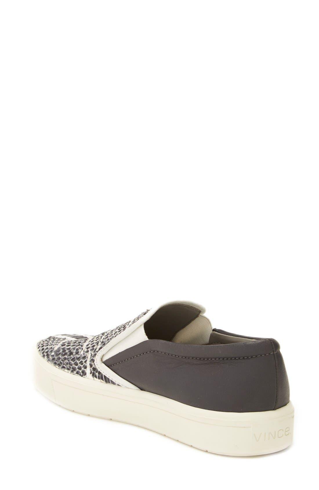 Alternate Image 2  - Vince 'Banler' Slip-On Sneaker (Women)