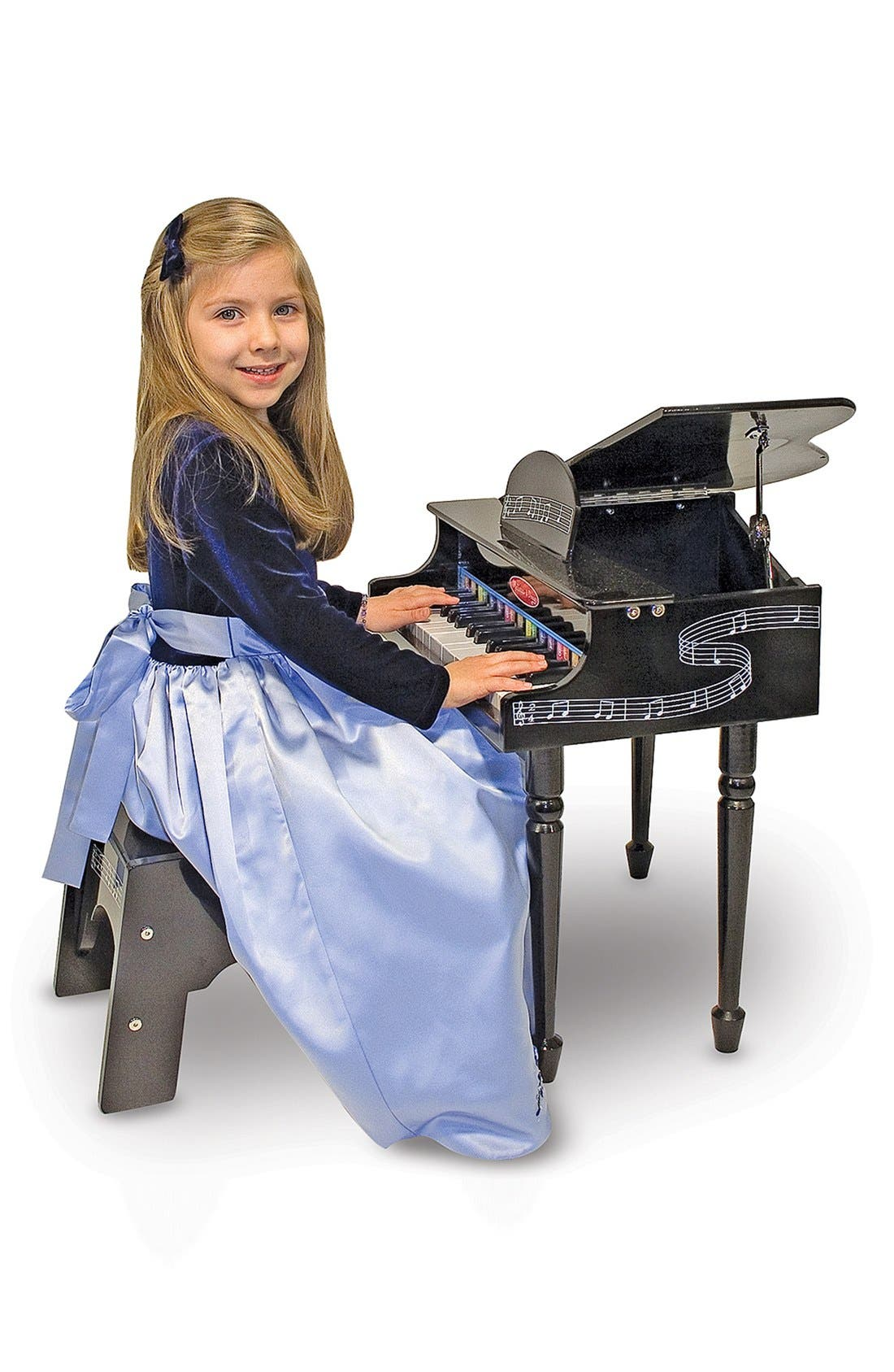 Alternate Image 3  - Melissa & Doug Grand Piano