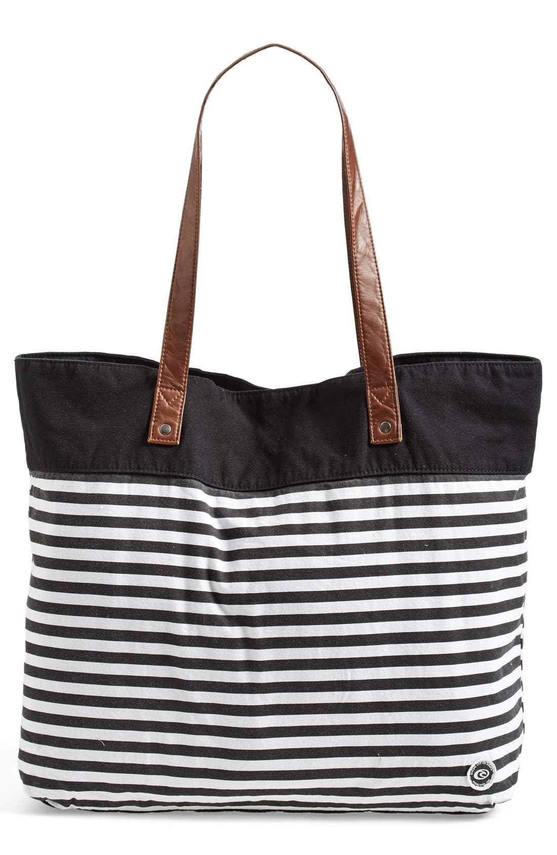 Alternate Image 1 Selected - Rip Curl 'That Stripe' Beach Bag