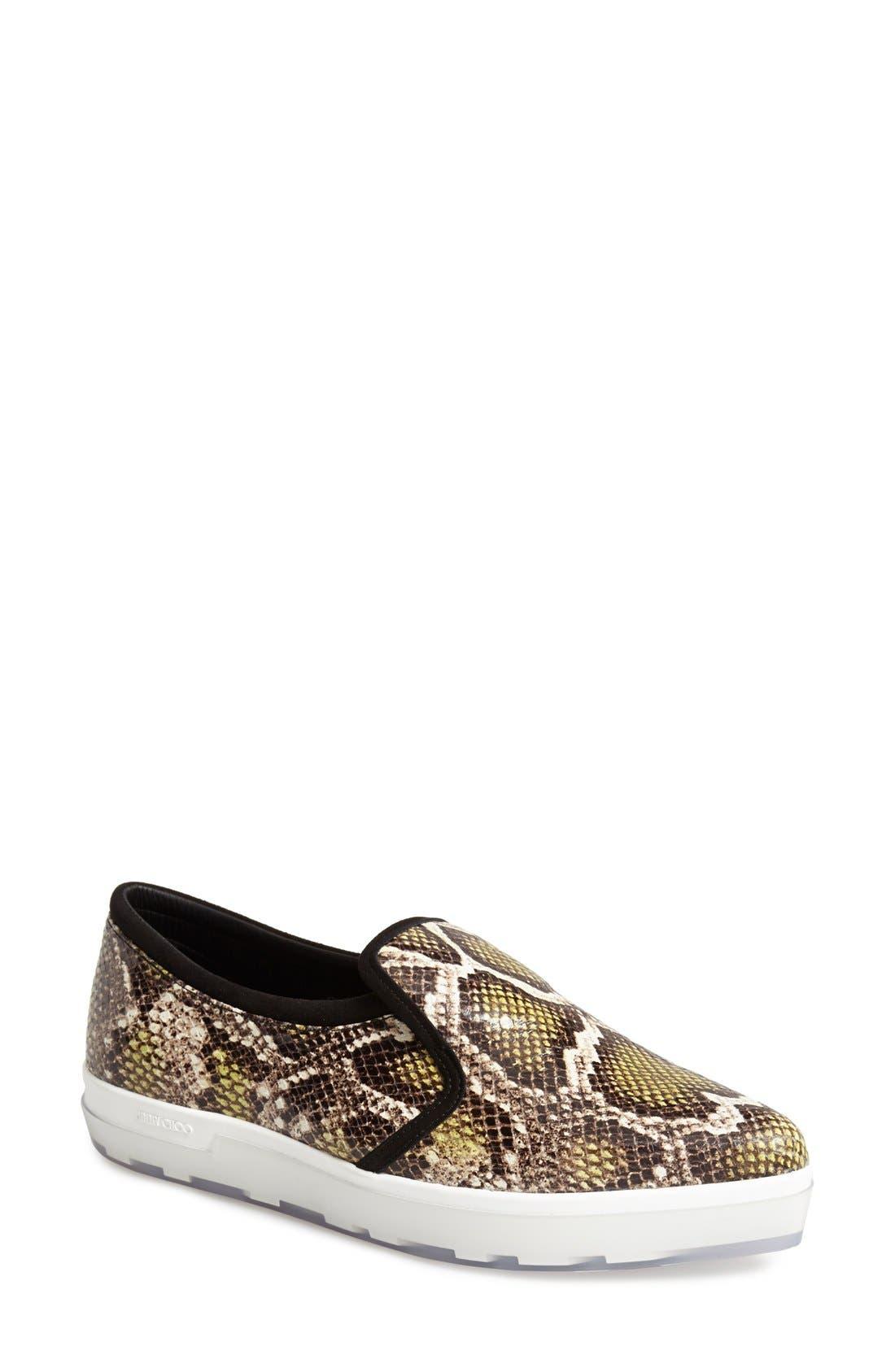 Alternate Image 1 Selected - Jimmy Choo 'Brooklyn' Slip-On Sneaker (Women)