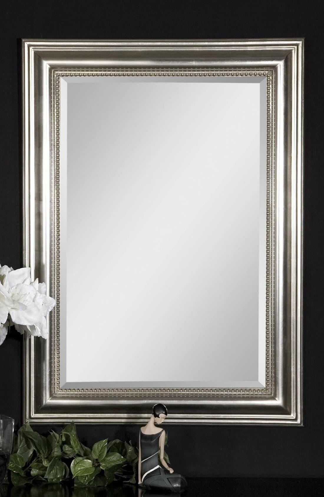 Alternate Image 3  - Uttermost 'Stuart' Silver Beaded Mirror