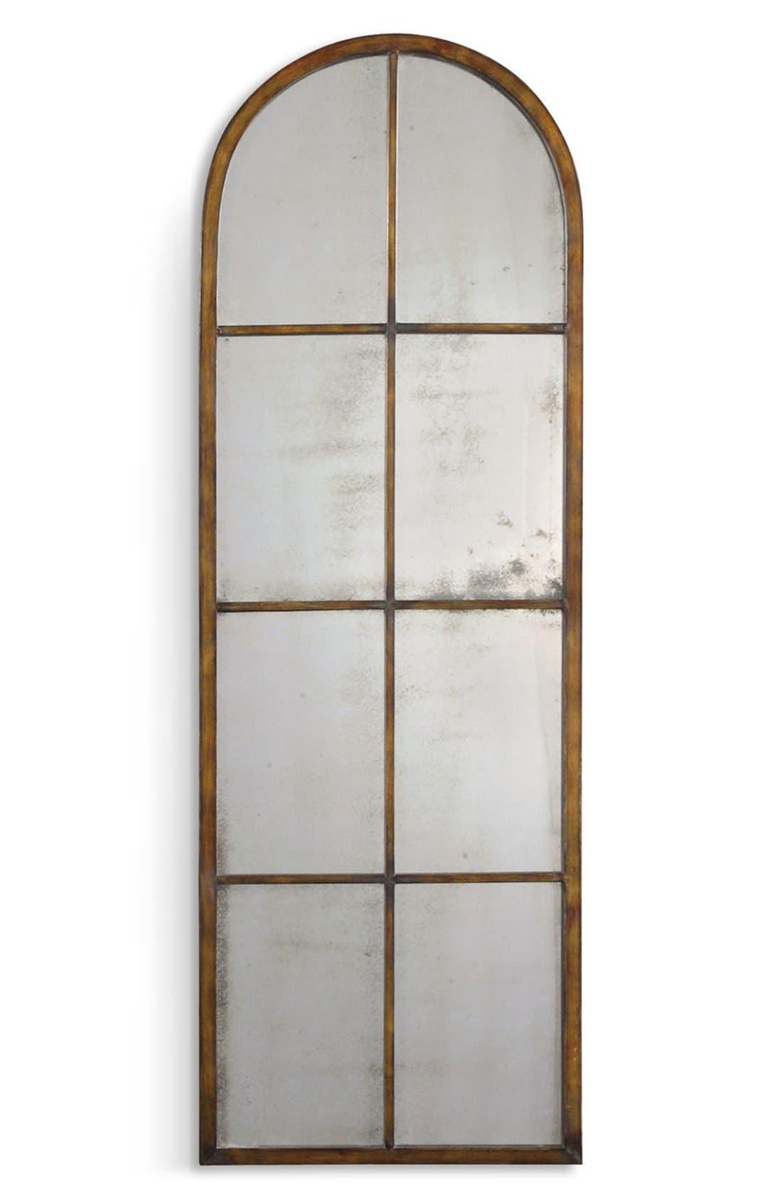 'Amiel' Arched Mirror,                         Main,                         color, Brown
