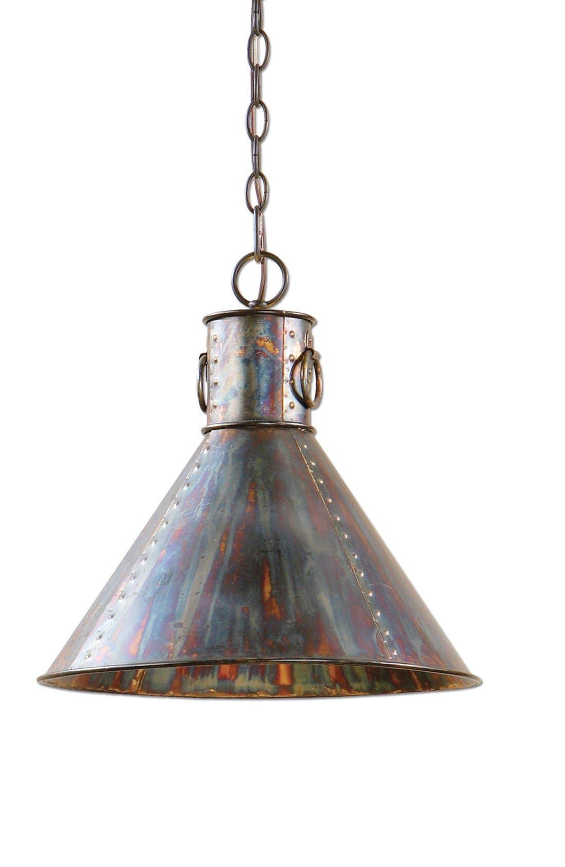 'Albiano Series - Levone' Oxidized Bronze Pendant Lamp,                         Main,                         color, Bronze