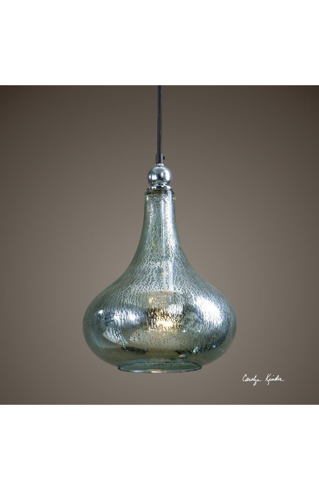 Alternate Image 2  - Uttermost 'Norbello' Mercury Glass Mini Pendant Light