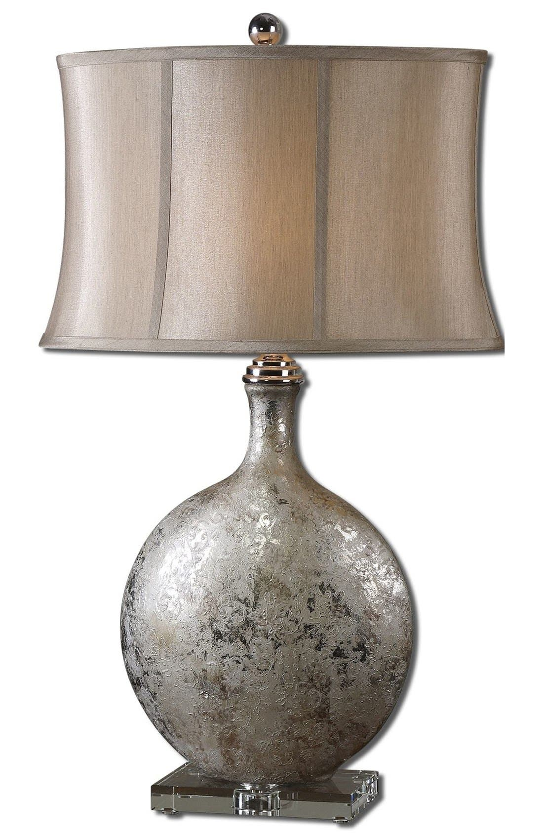 'Navelli' Table Lamp,                         Main,                         color, Silver