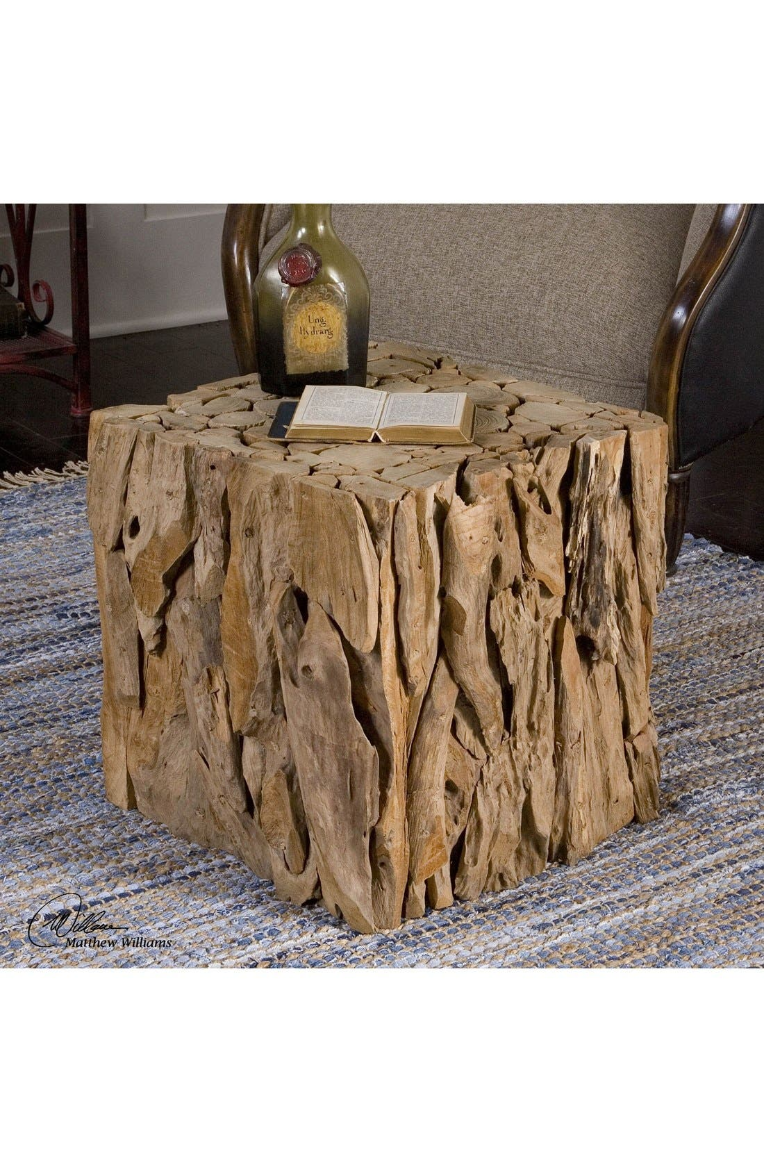 Alternate Image 1 Selected - Uttermost Teak Wood Cube