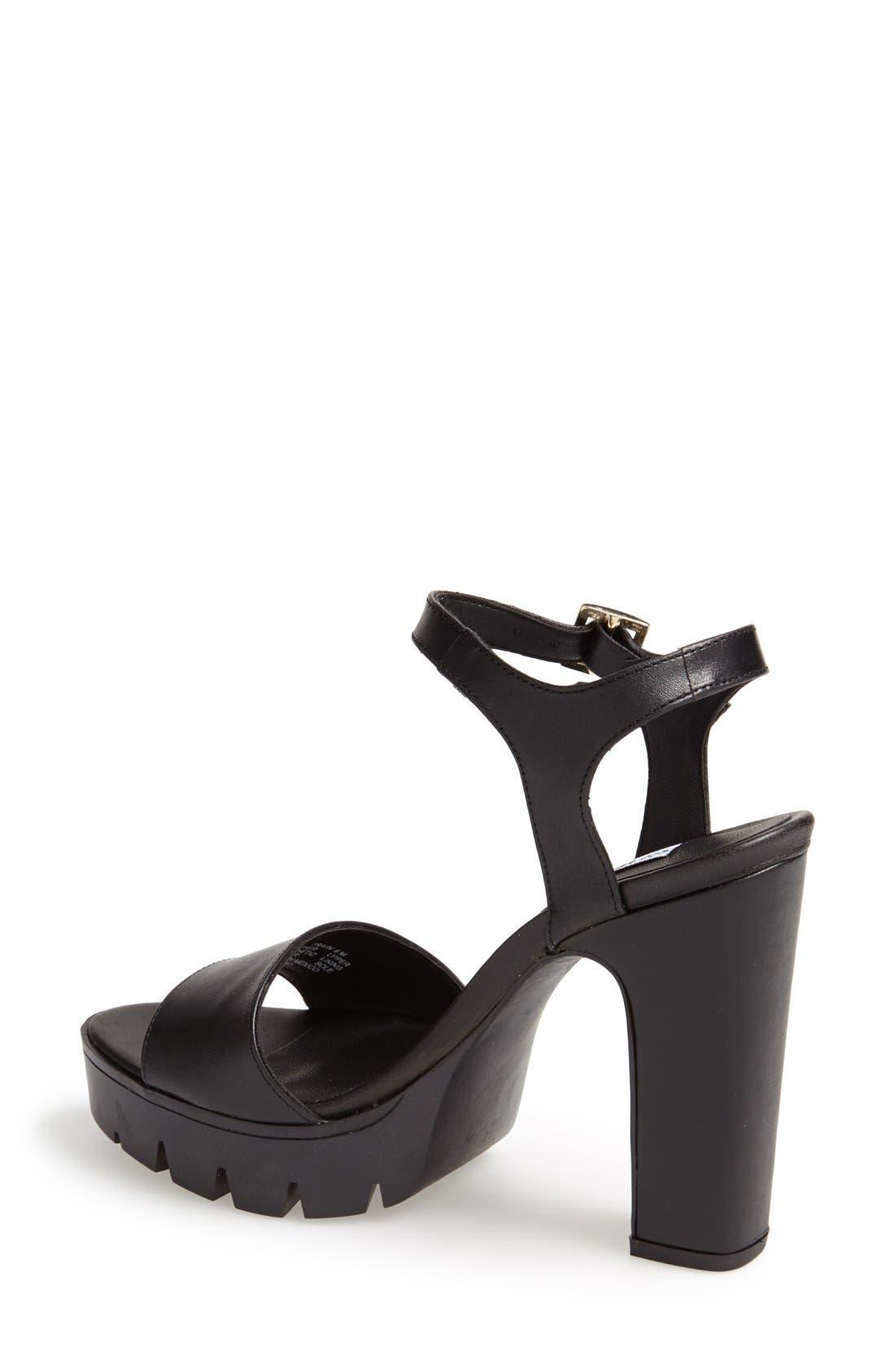Alternate Image 2  - Steve Madden 'Traiin' Platform Sandal (Women)