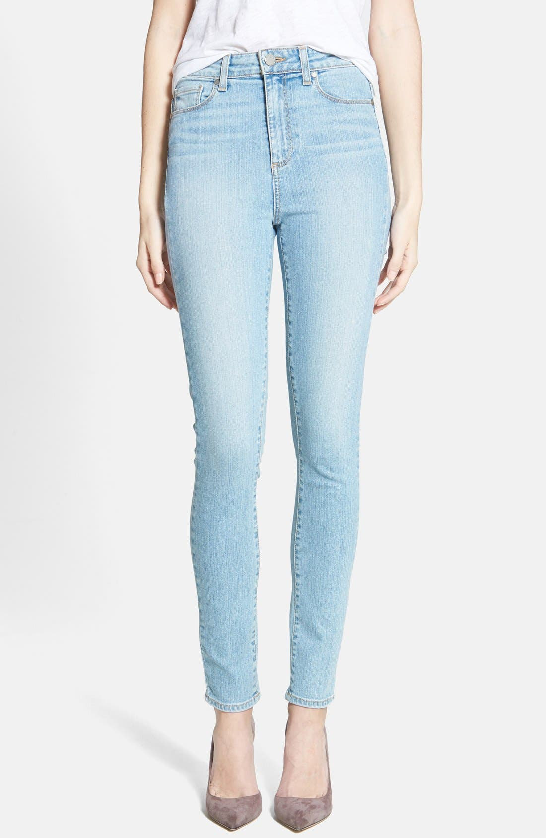 Alternate Image 1 Selected - Paige Denim 'Margot' Ultra Skinny Jeans (Loren Blue)