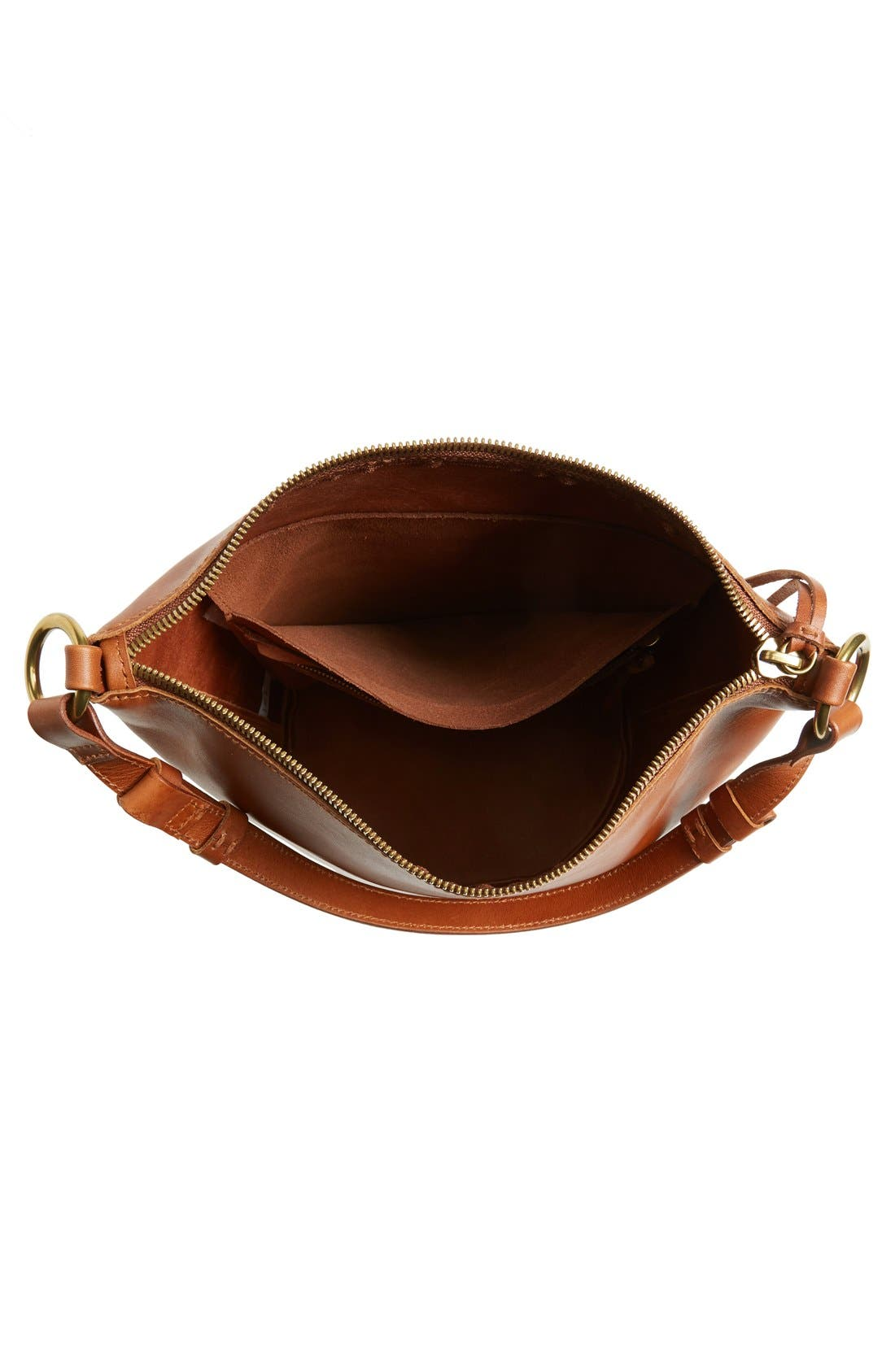 Alternate Image 4  - Madewell O-Ring Leather Bucket Bag