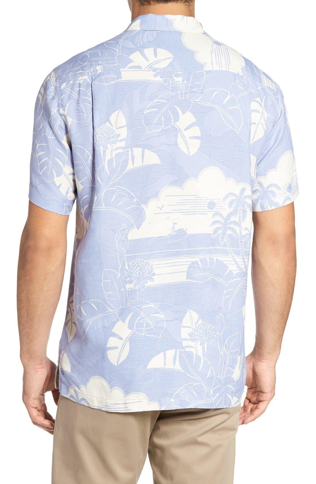 Alternate Image 2  - Tommy Bahama Bon Voyage Isle Silk Shirt
