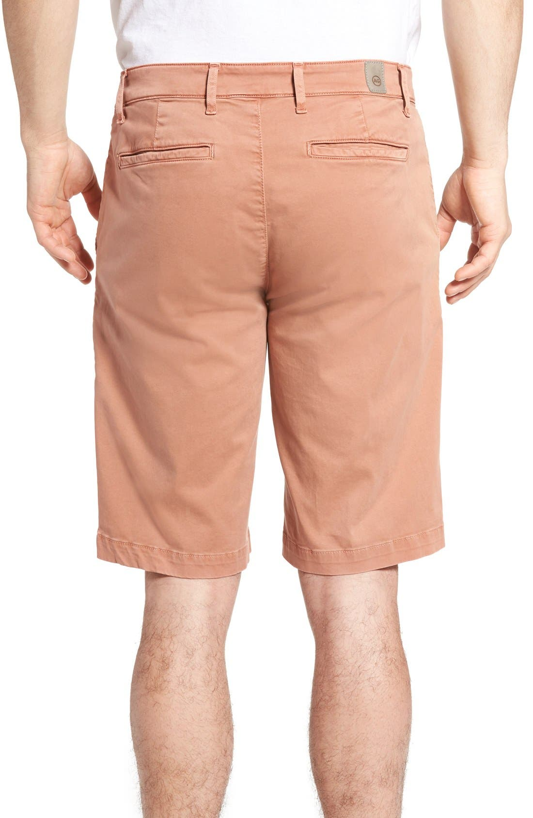 'Griffin' Chino Shorts,                             Alternate thumbnail 2, color,                             Sulfur Canyon