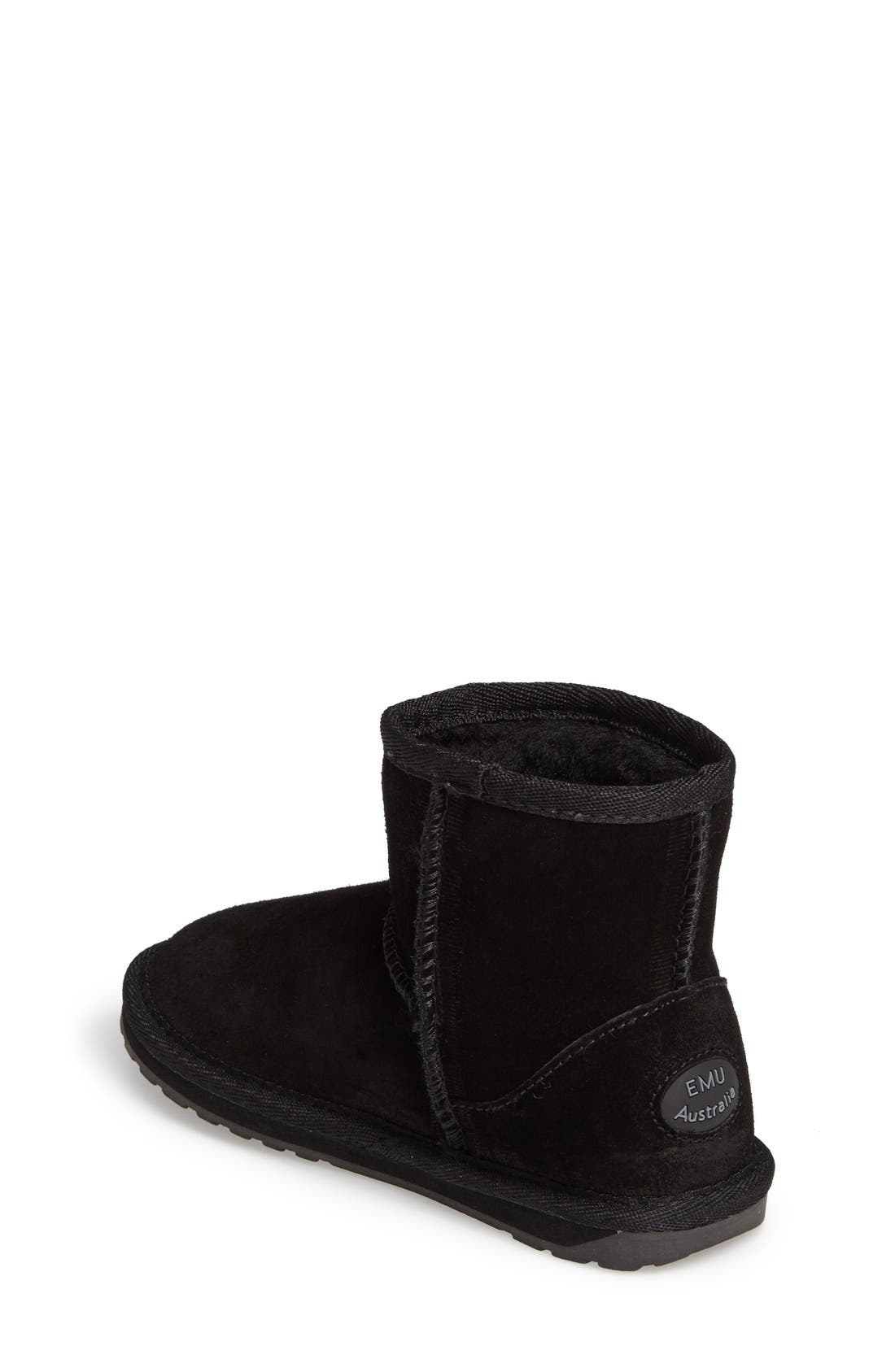 Wallaby Boot,                             Alternate thumbnail 2, color,                             Black