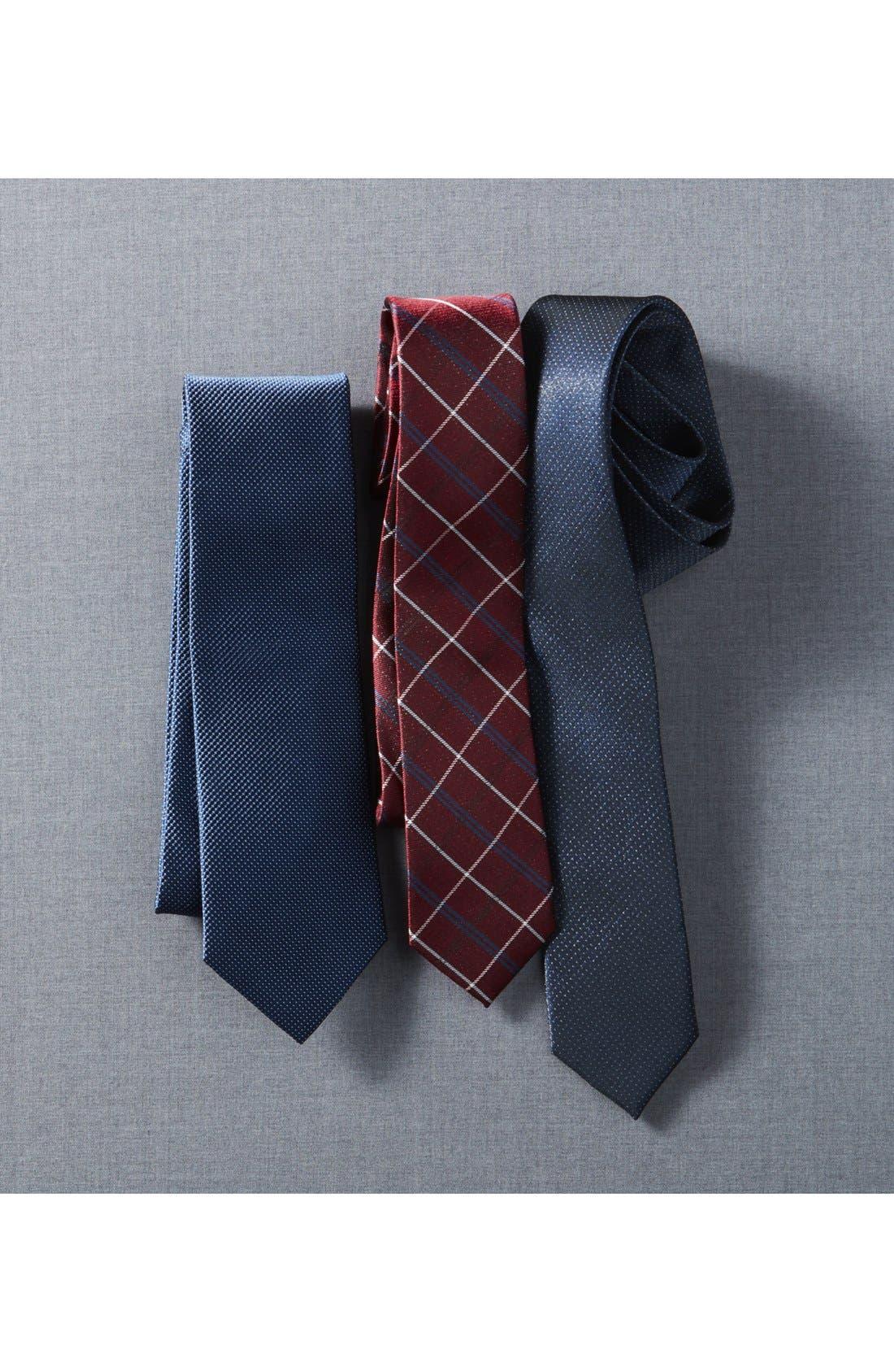 Alternate Image 4  - Nordstrom Men's Shop Solid Silk Tie