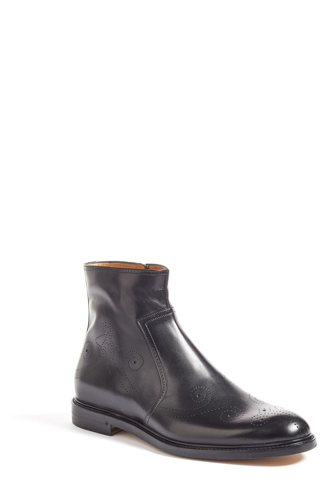 Alternate Image 1 Selected - Gucci Zip Boot (Men)