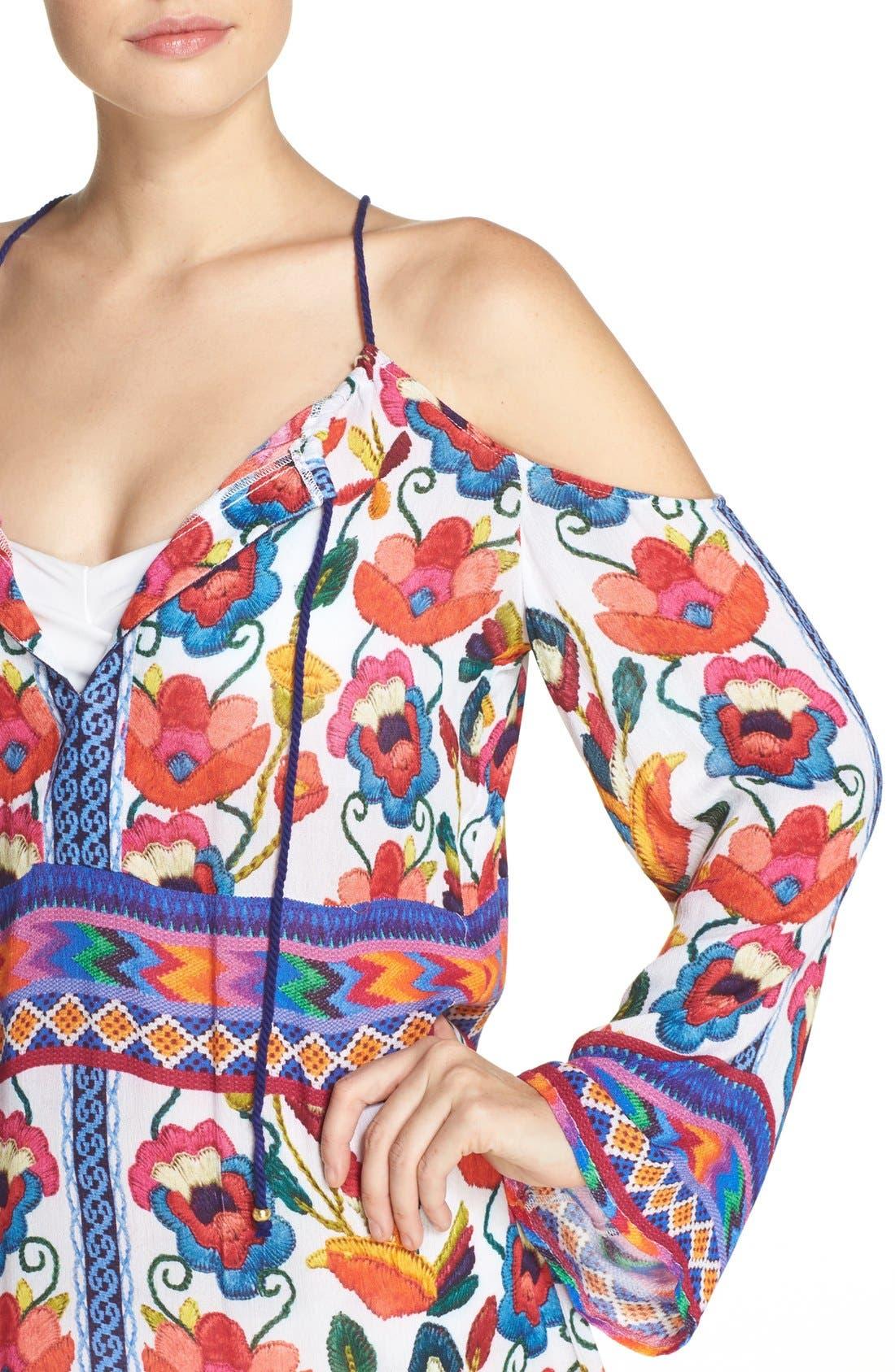 Alternate Image 4  - Nanette Lepore Antigua Cover-Up Tunic