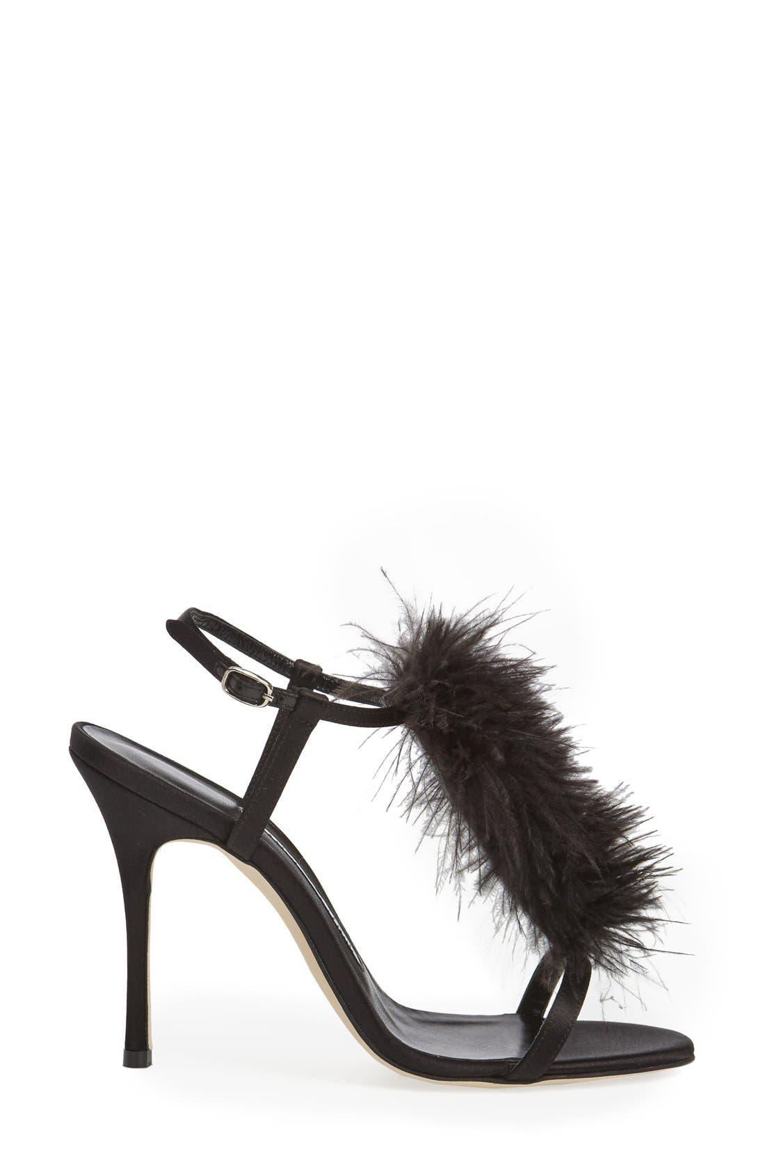 Alternate Image 4  - Manolo Blahnik Eila T-Strap Sandal (Women)
