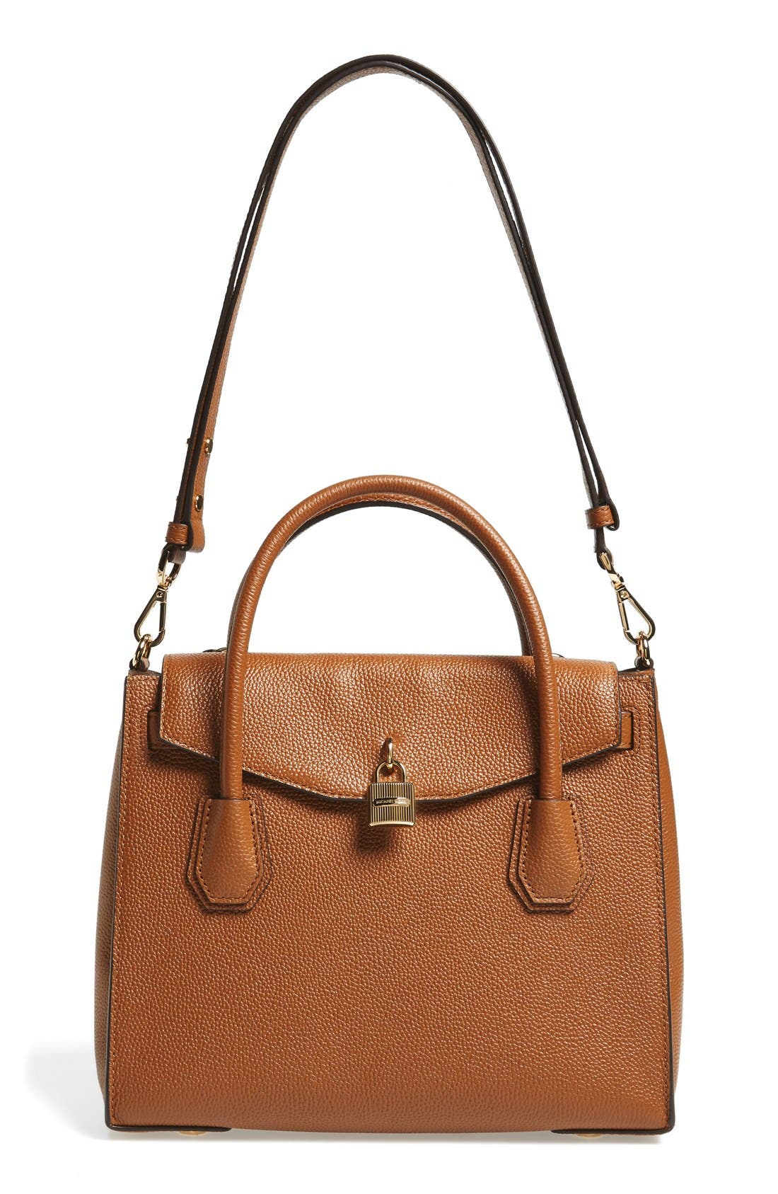 Main Image - MICHAEL Michael Kors Large Mercer All-in-One Leather Satchel