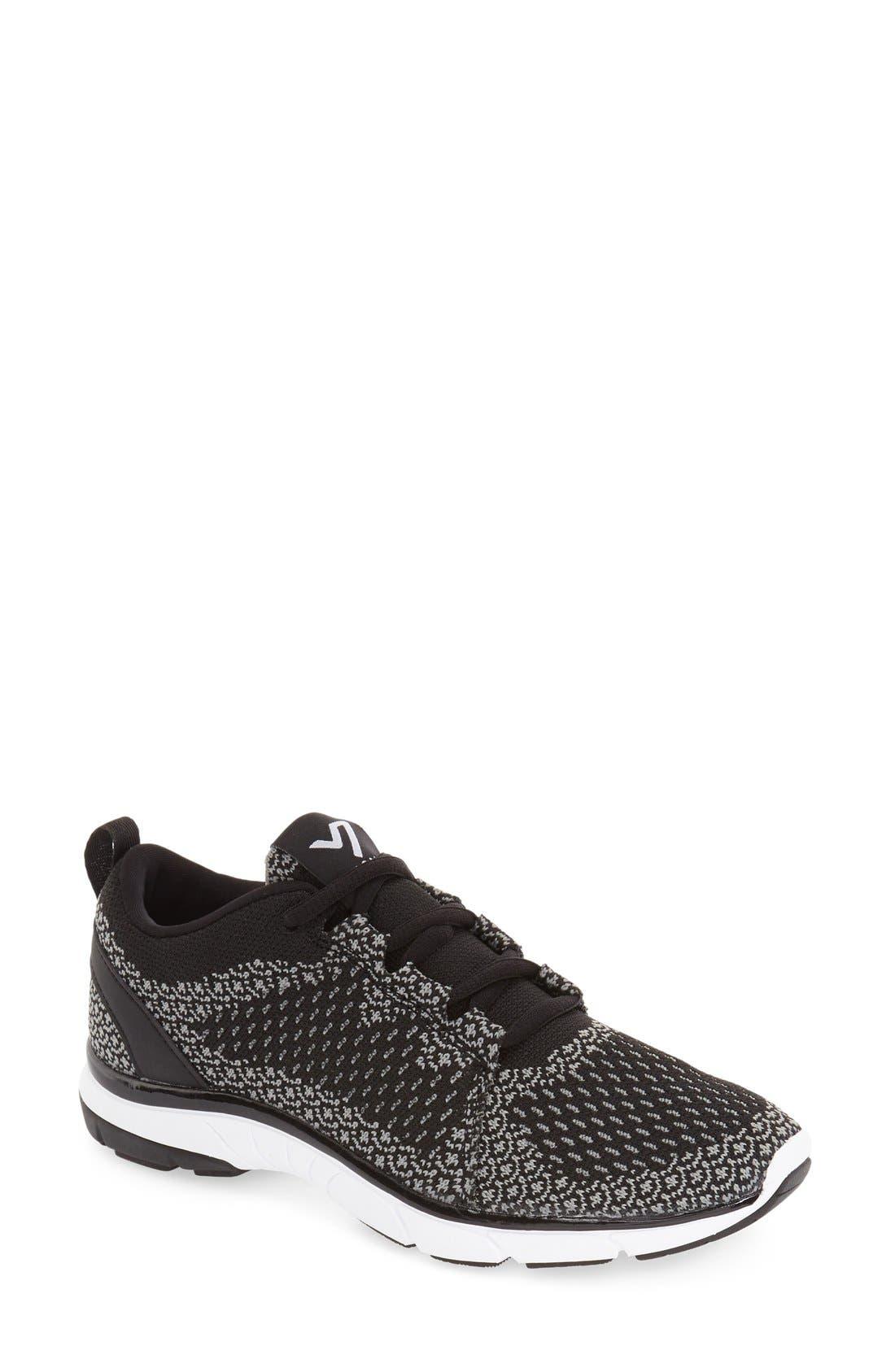 'Sierra' Sneaker,                         Main,                         color, Black/ Charcoal
