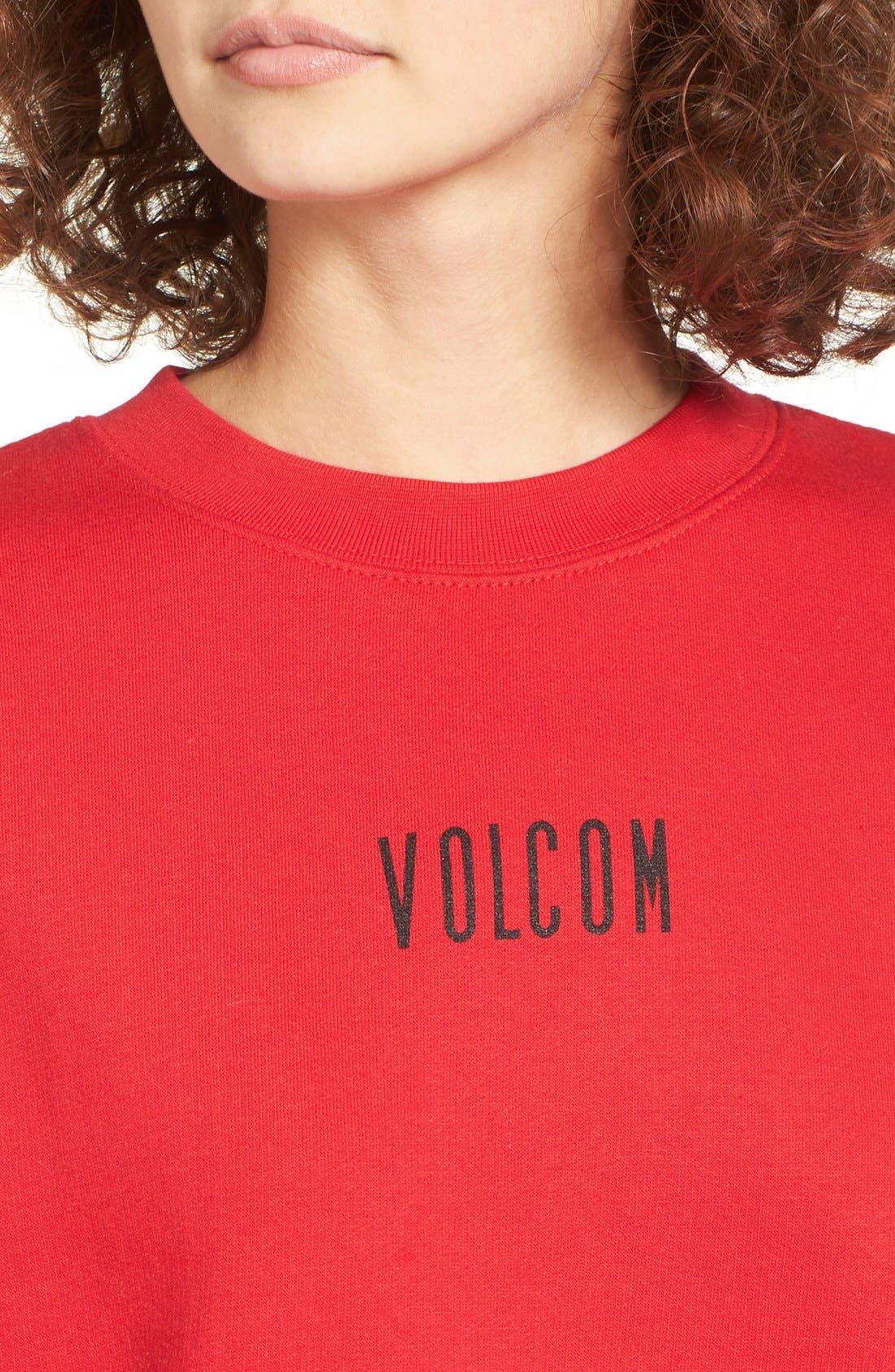 Alternate Image 4  - Volcom Hesh Graphic Pullover