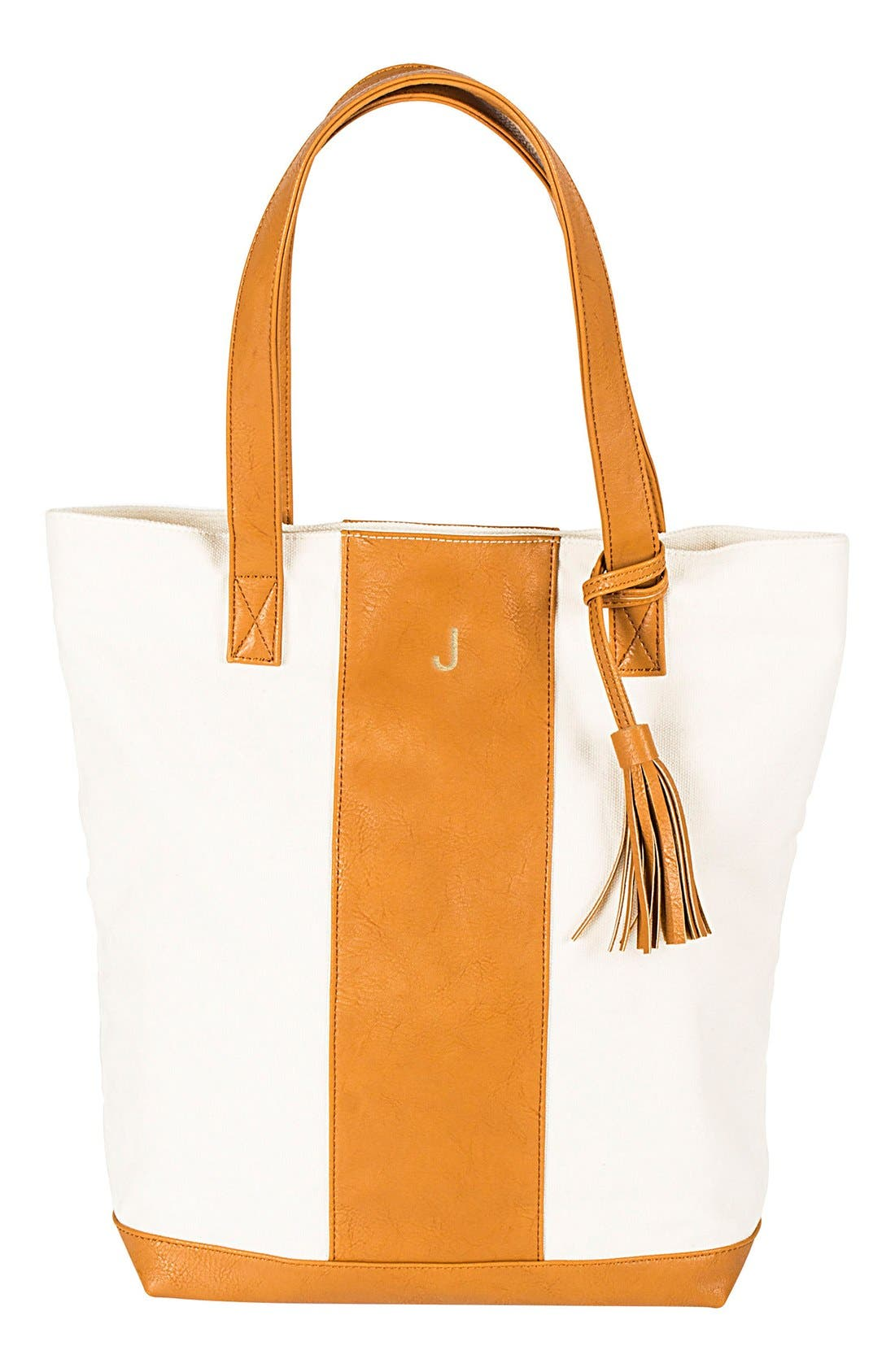 Alternate Image 1 Selected - Cathy's Concepts Monogram Tote