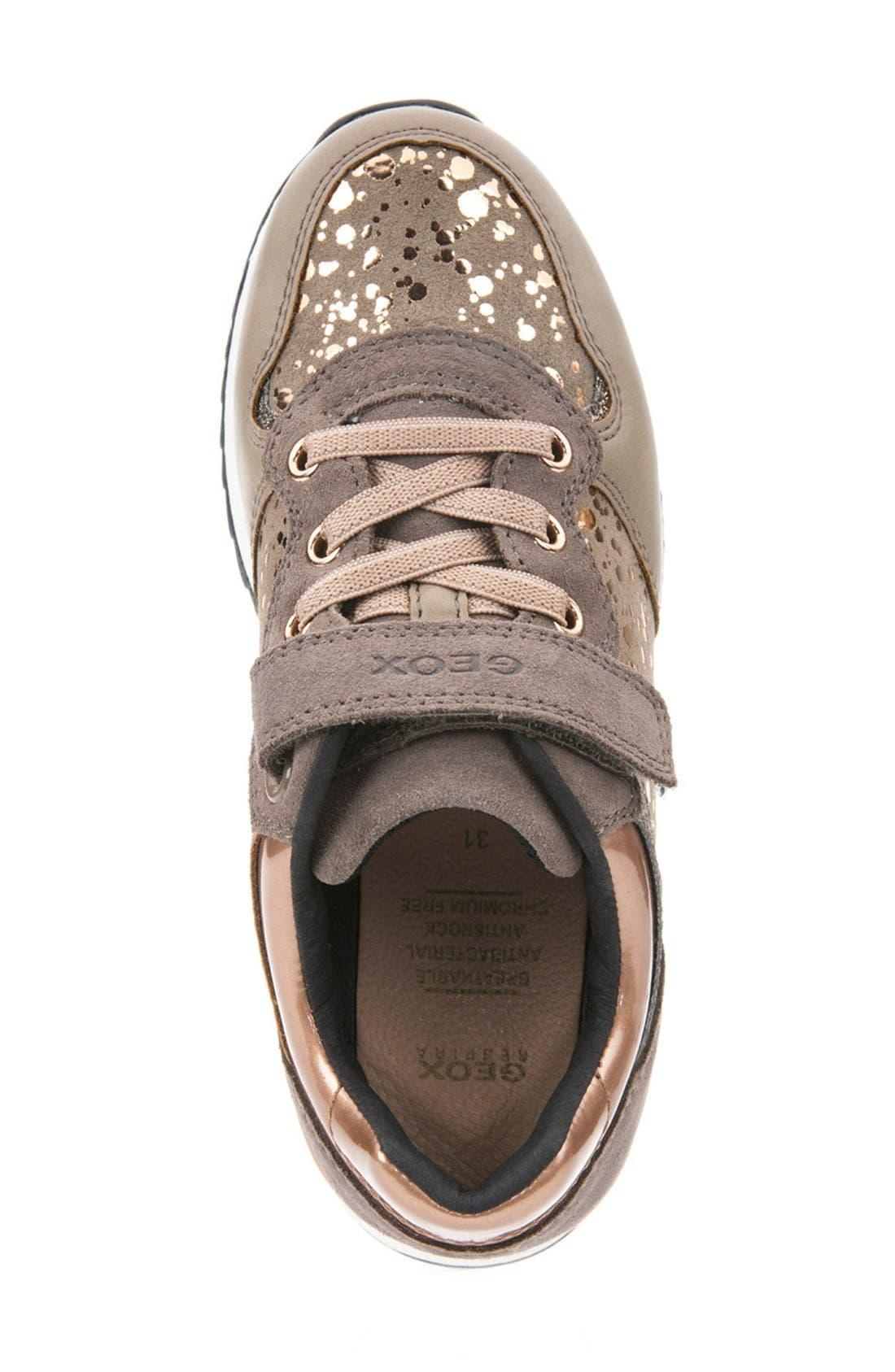 Maisie Sneaker,                             Alternate thumbnail 3, color,                             Dark Beige