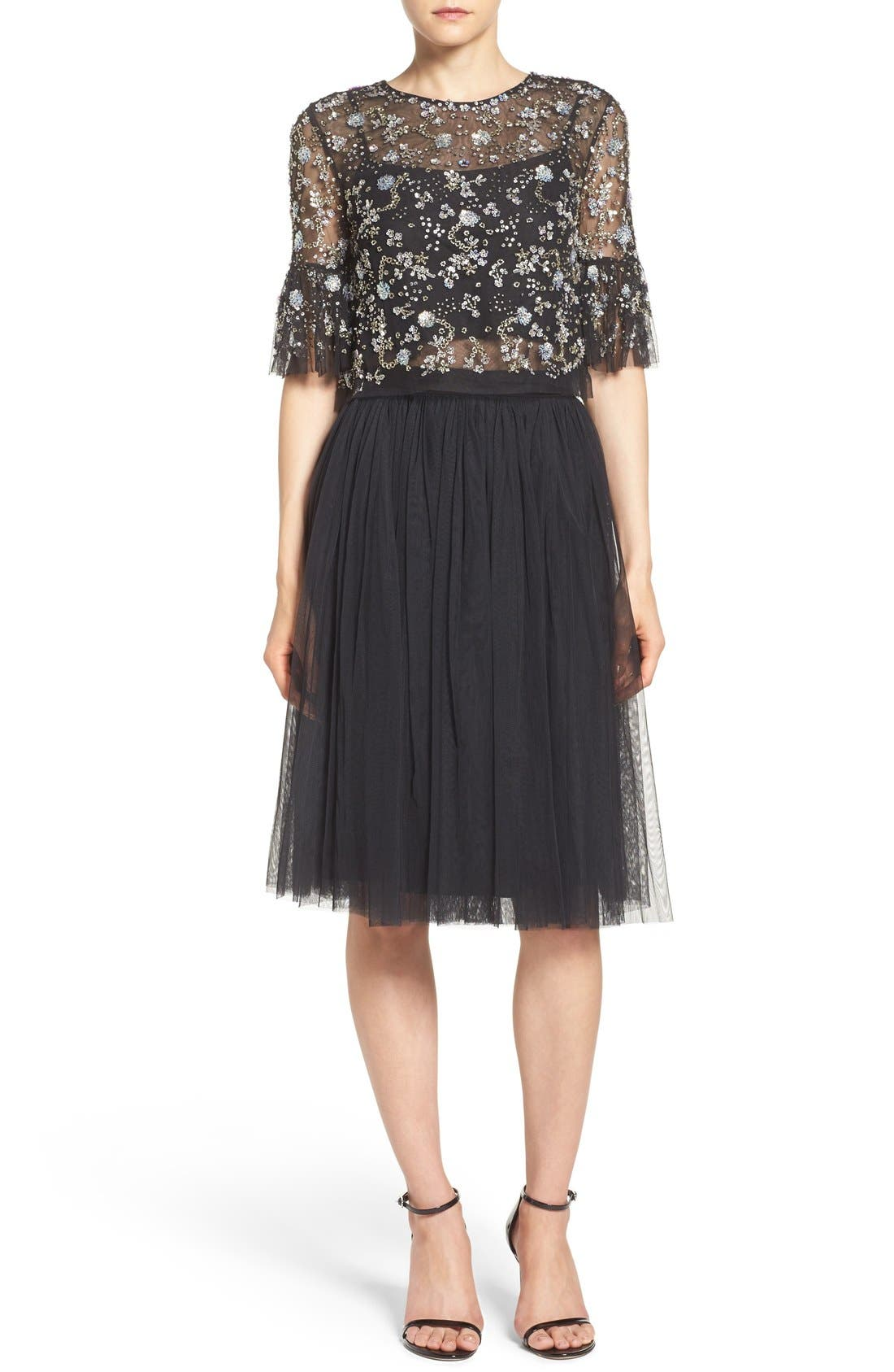Alternate Image 7  - Needle & Thread Tulle Skirt
