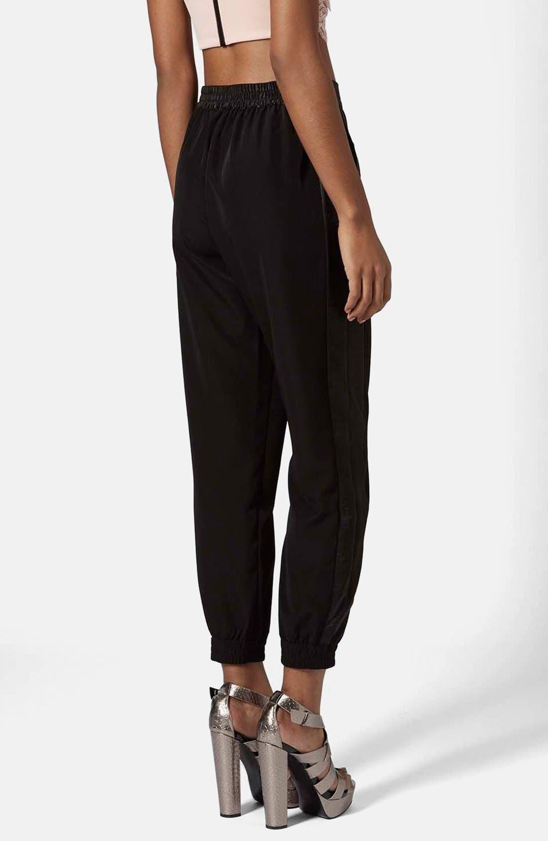 Alternate Image 2  - Topshop Stripe Jogger Pants