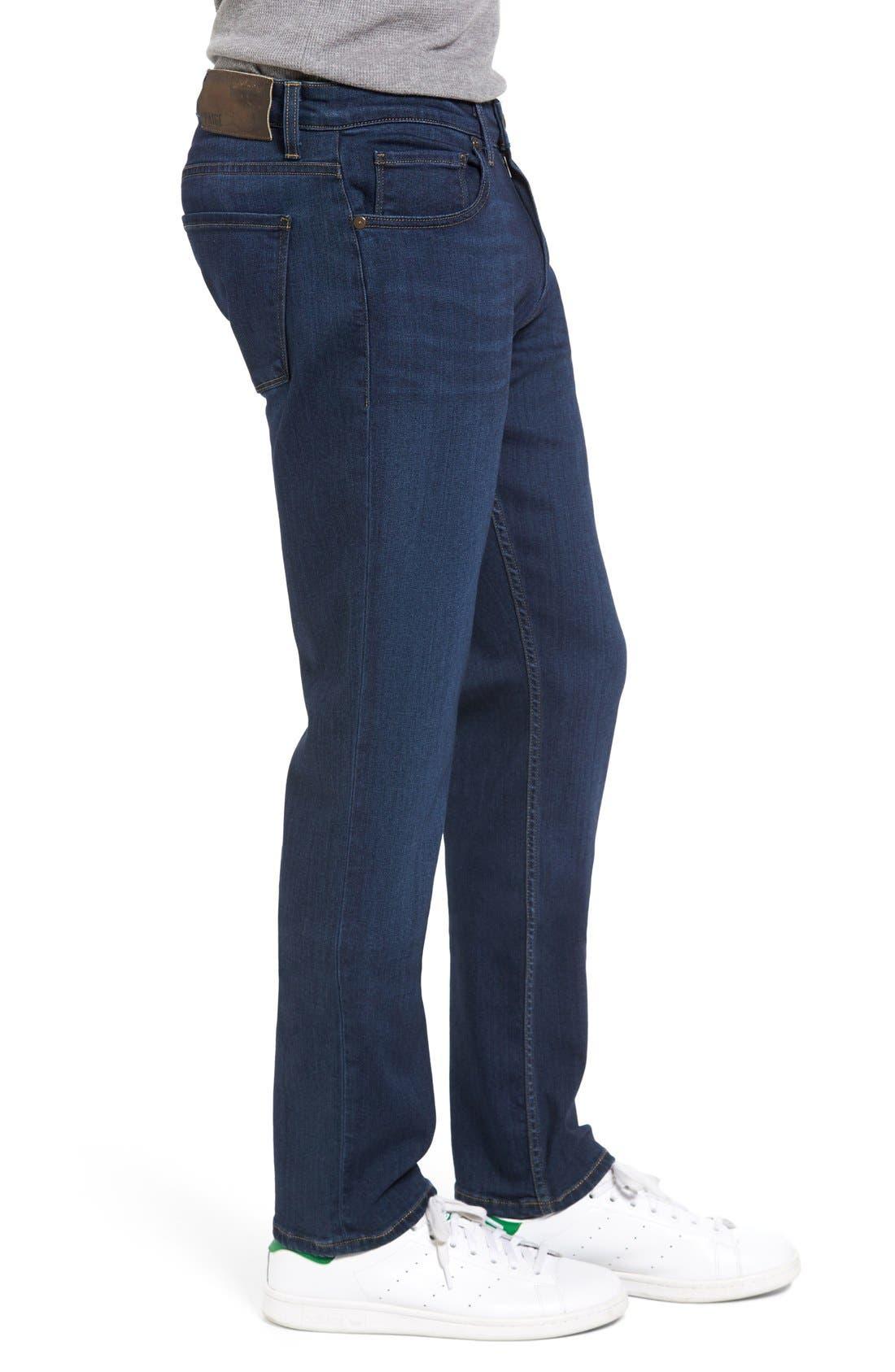 Transcend - Federal Slim Straight Leg Jeans,                             Alternate thumbnail 3, color,                             Scott