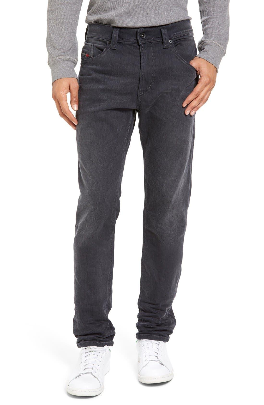 Main Image - DIESEL® Thommer Slim Fit Jeans (859K)