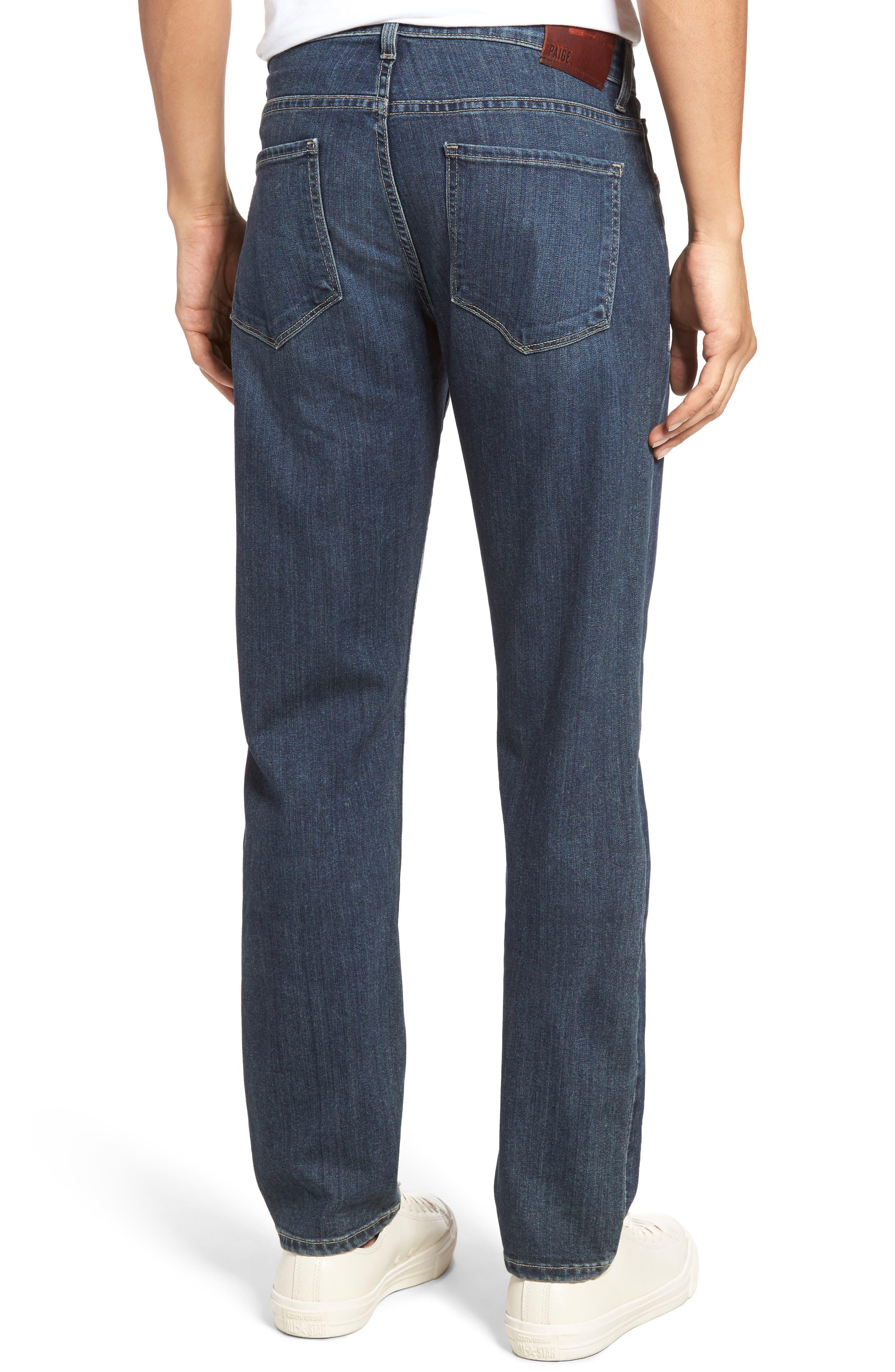 Alternate Image 2  - PAIGE Transcend - Federal Slim Straight Leg Jeans (Wayne)