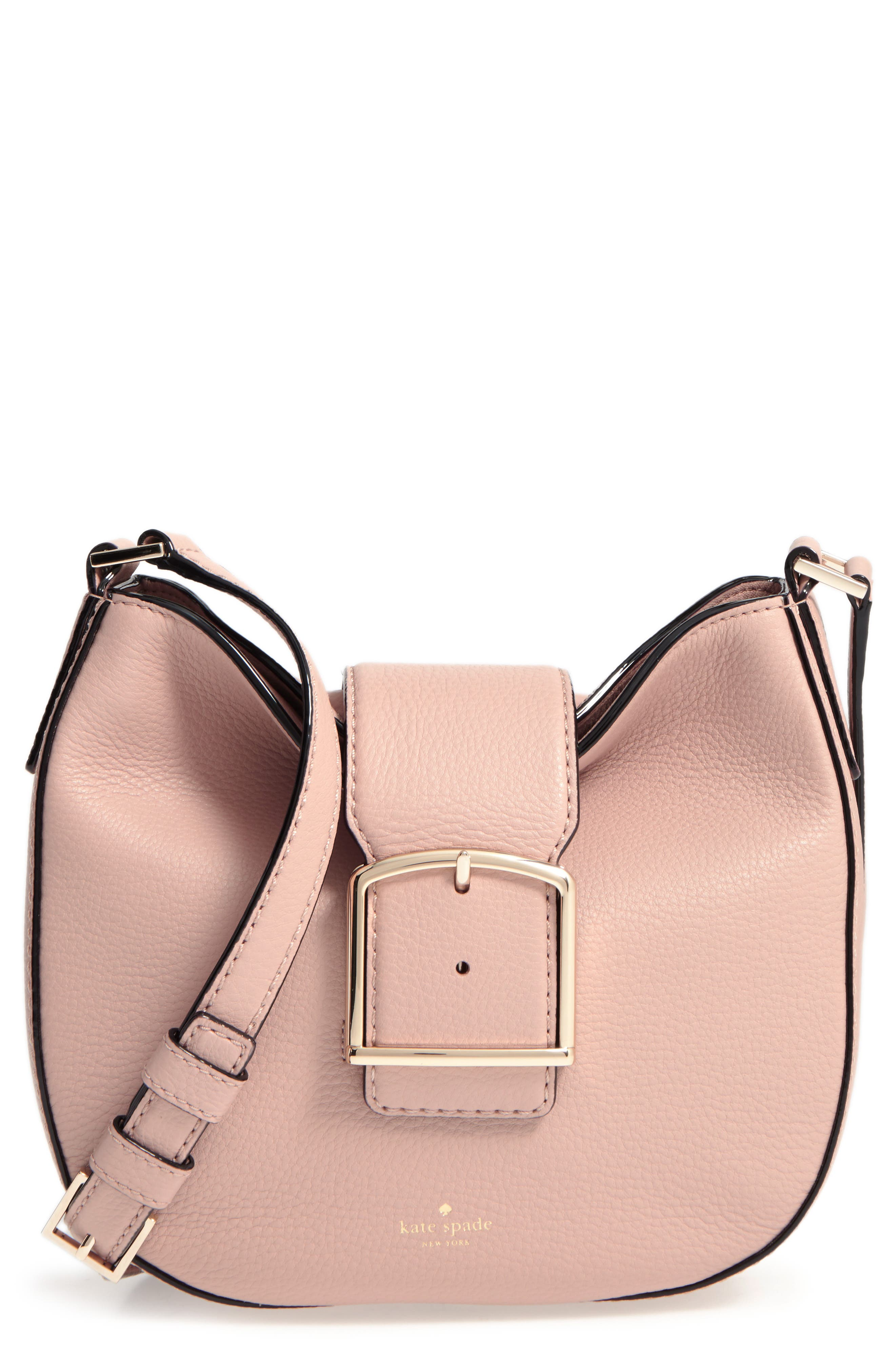 Alternate Image 1 Selected - kate spade new york healy lane lilith leather crossbody bag
