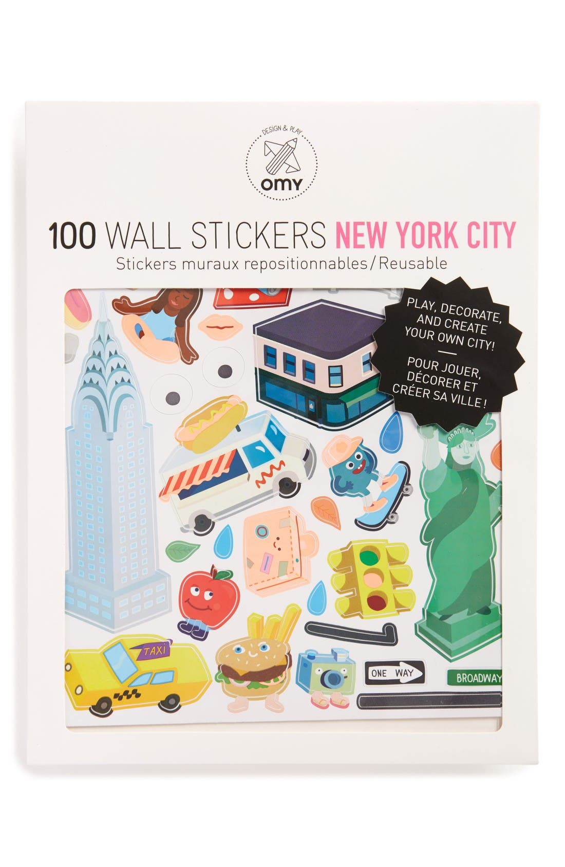 OMY NYC Wall Stickers