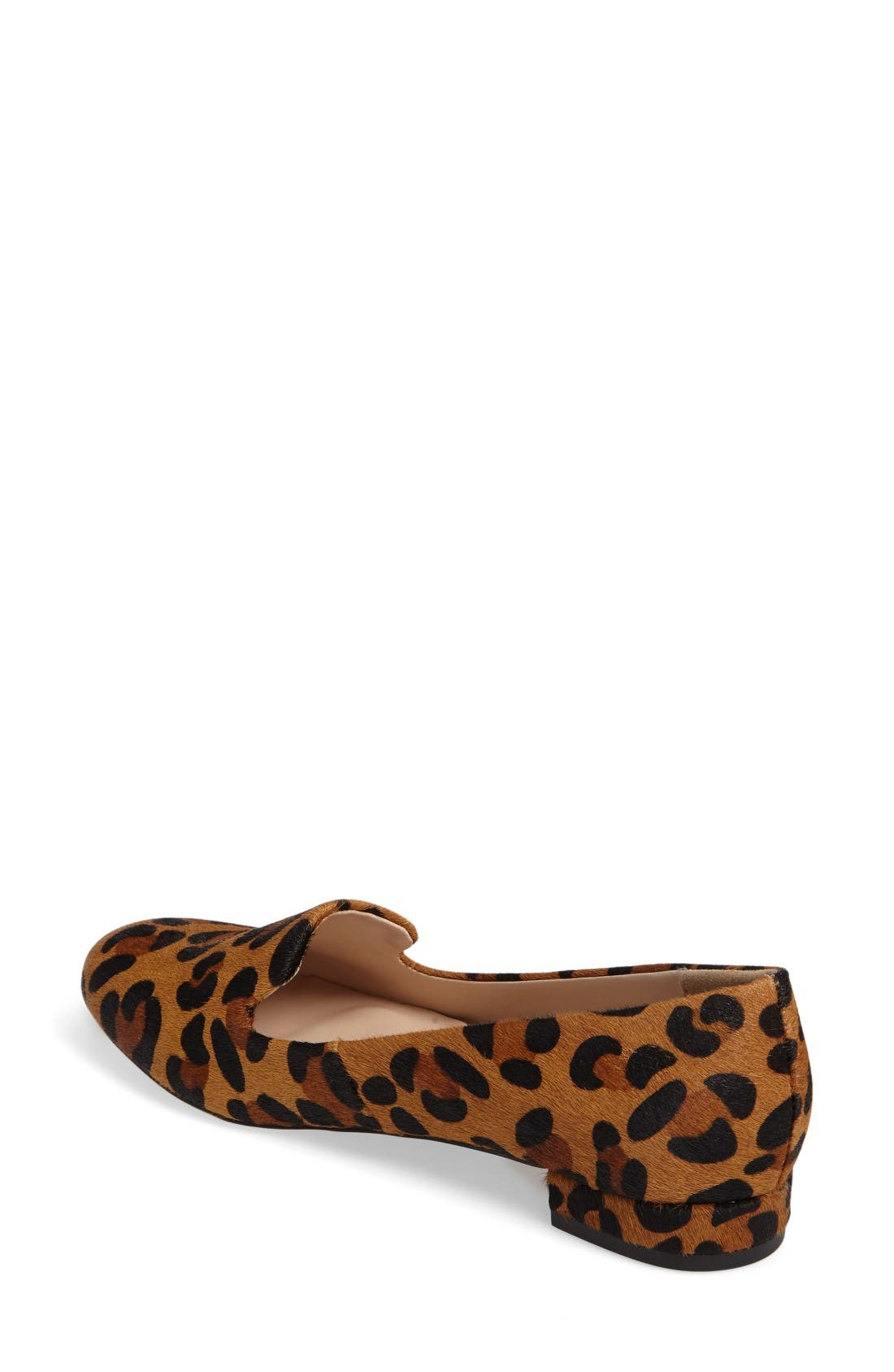 Nitsa Genuine Calf Hair Loafer,                             Alternate thumbnail 2, color,                             Leopard