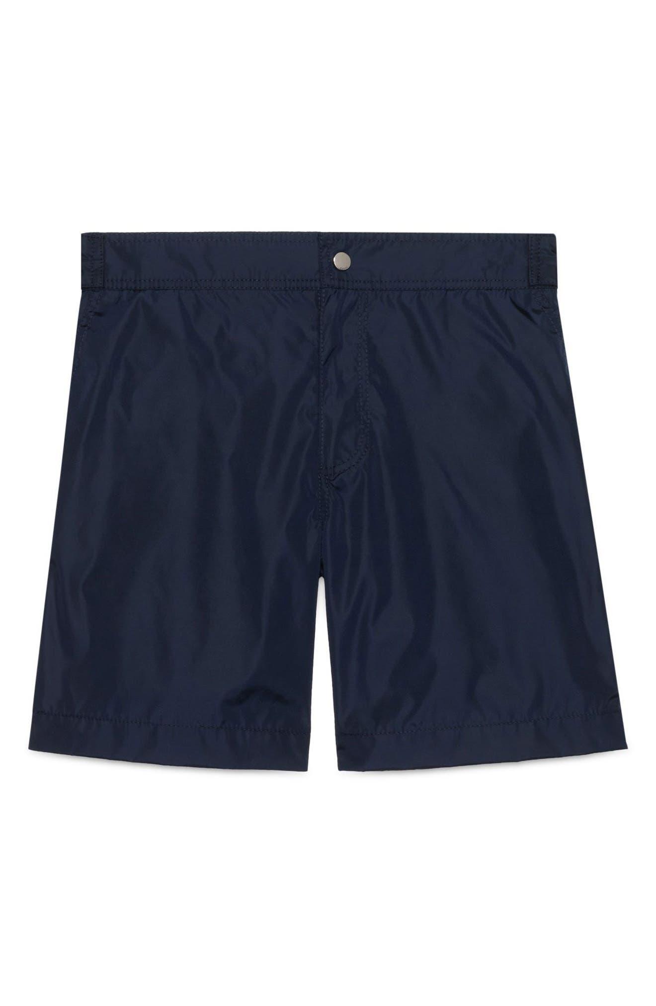 Swim Trunks,                         Main,                         color, Navy Multi