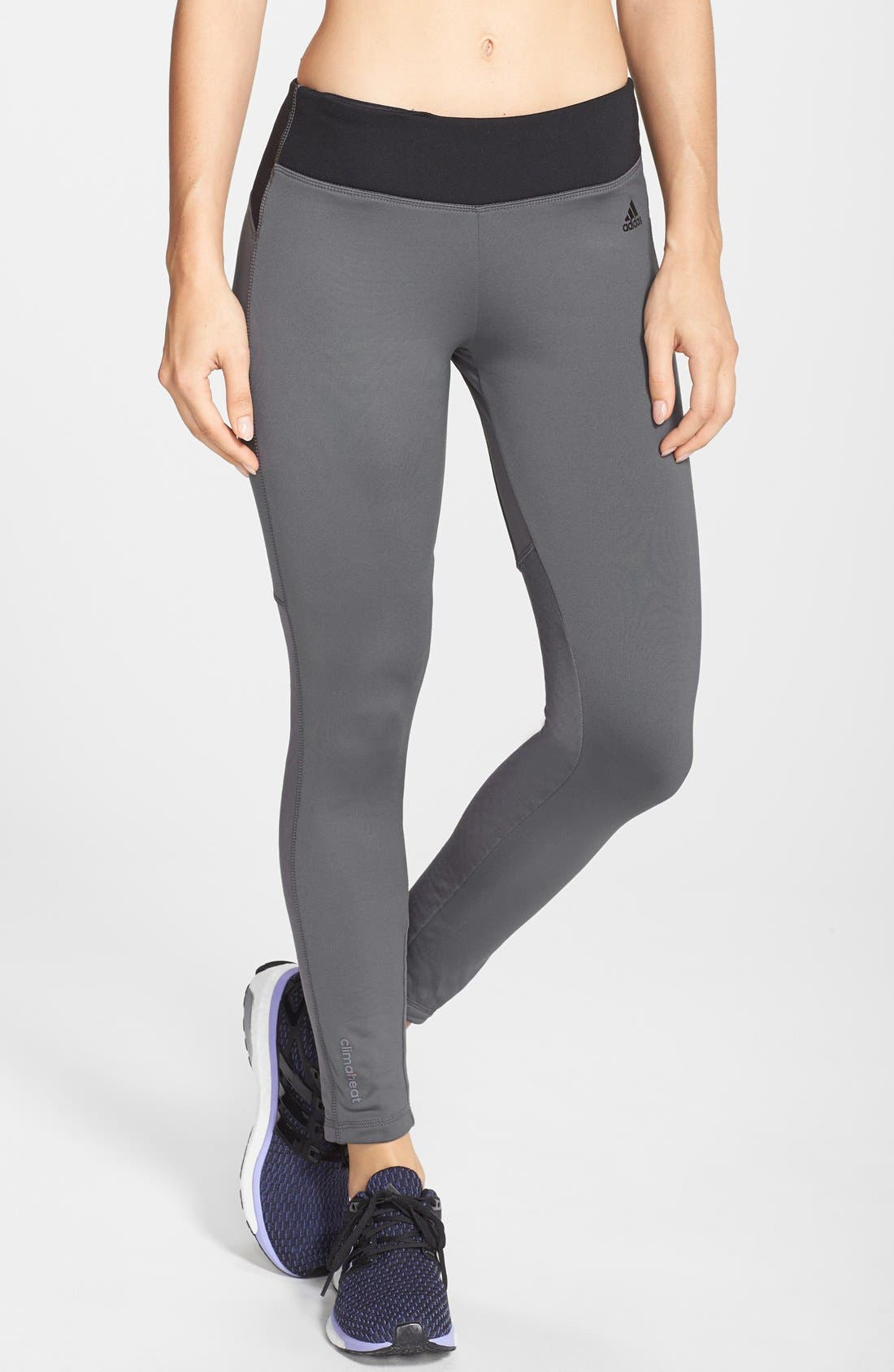 Alternate Image 1 Selected - adidas CLIMAHEAT® Athletic Tights