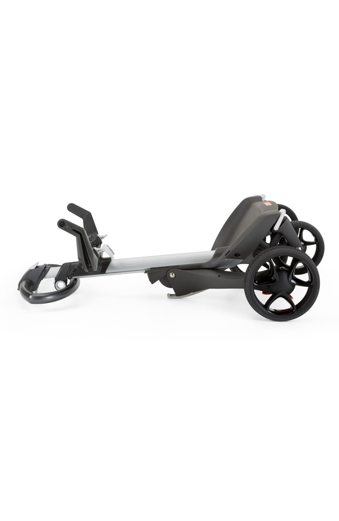 Xplory<sup>®</sup> V5 Stroller,                             Alternate thumbnail 3, color,                             Black Melange