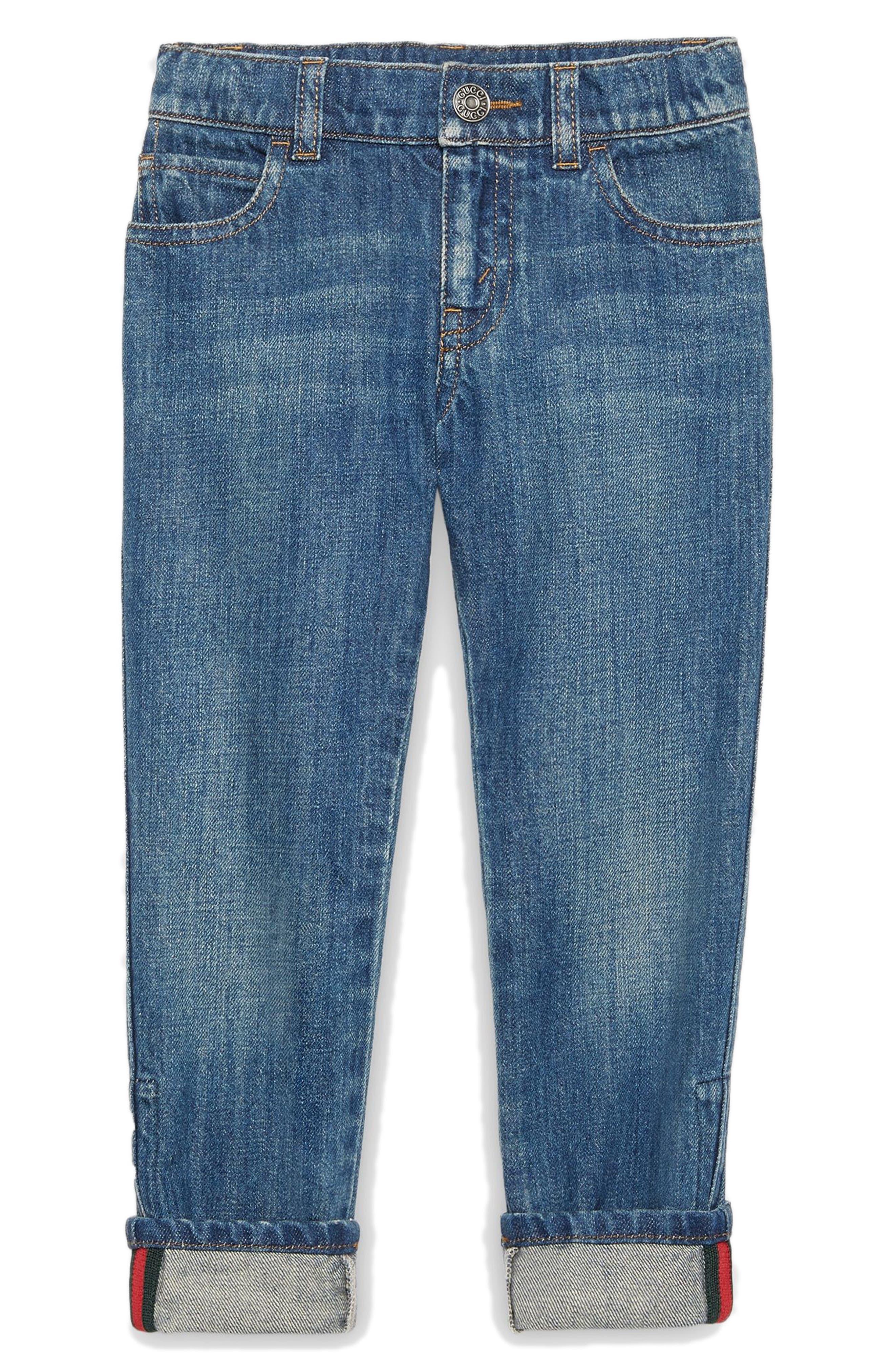 Straight Leg Jeans,                         Main,                         color, Orbit Multi
