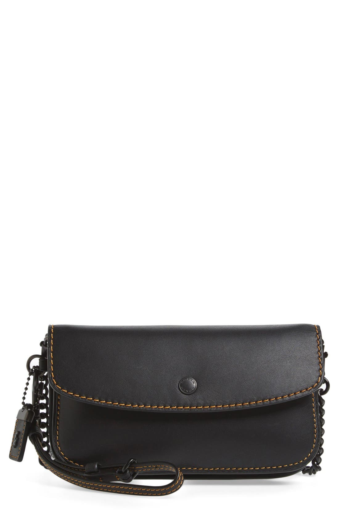 Alternate Image 1 Selected - COACH 1941 Leather Clutch
