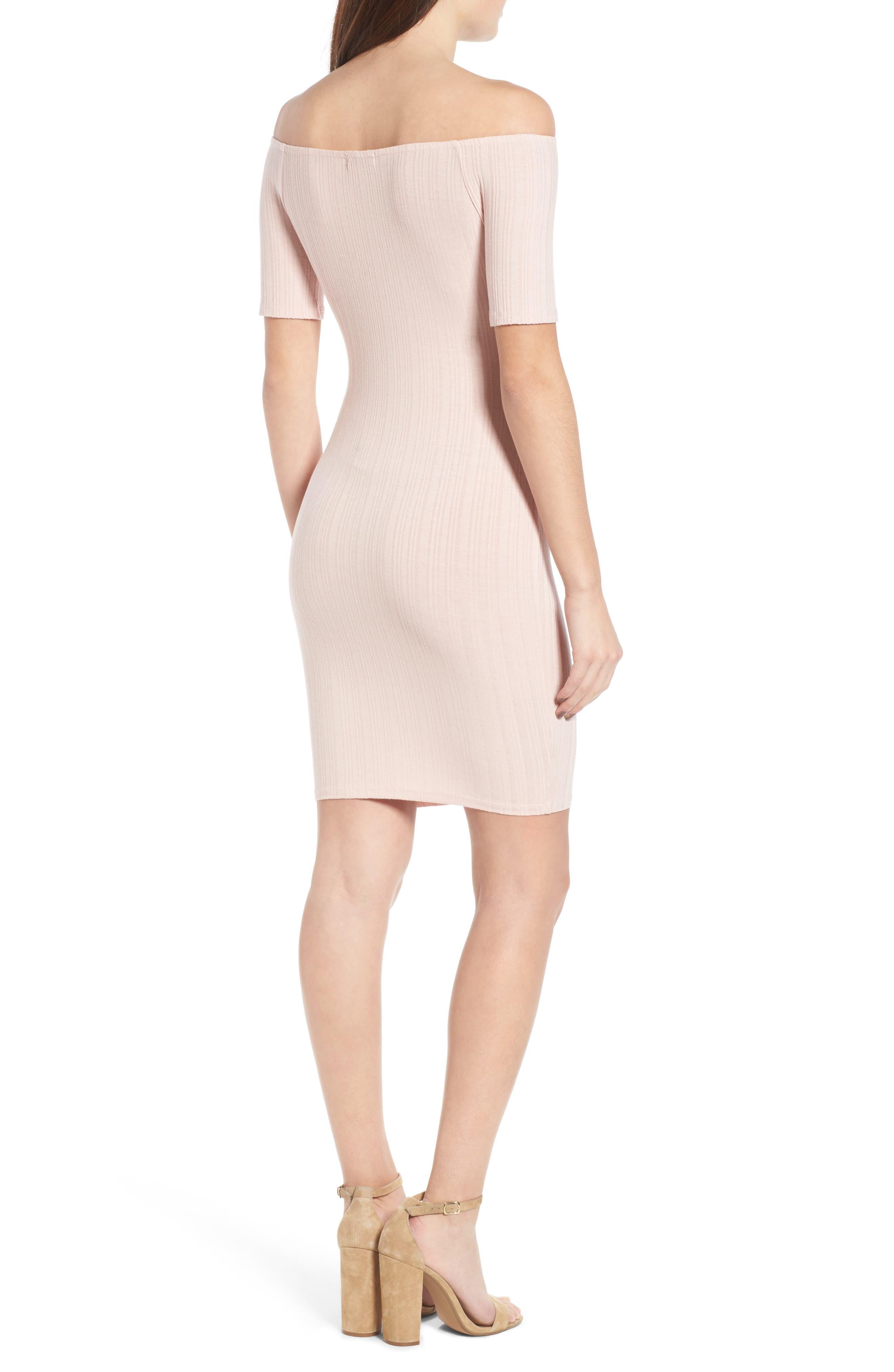 Alternate Image 2  - Michelle by Comune Bellmead Off-the-Shoulder Dress