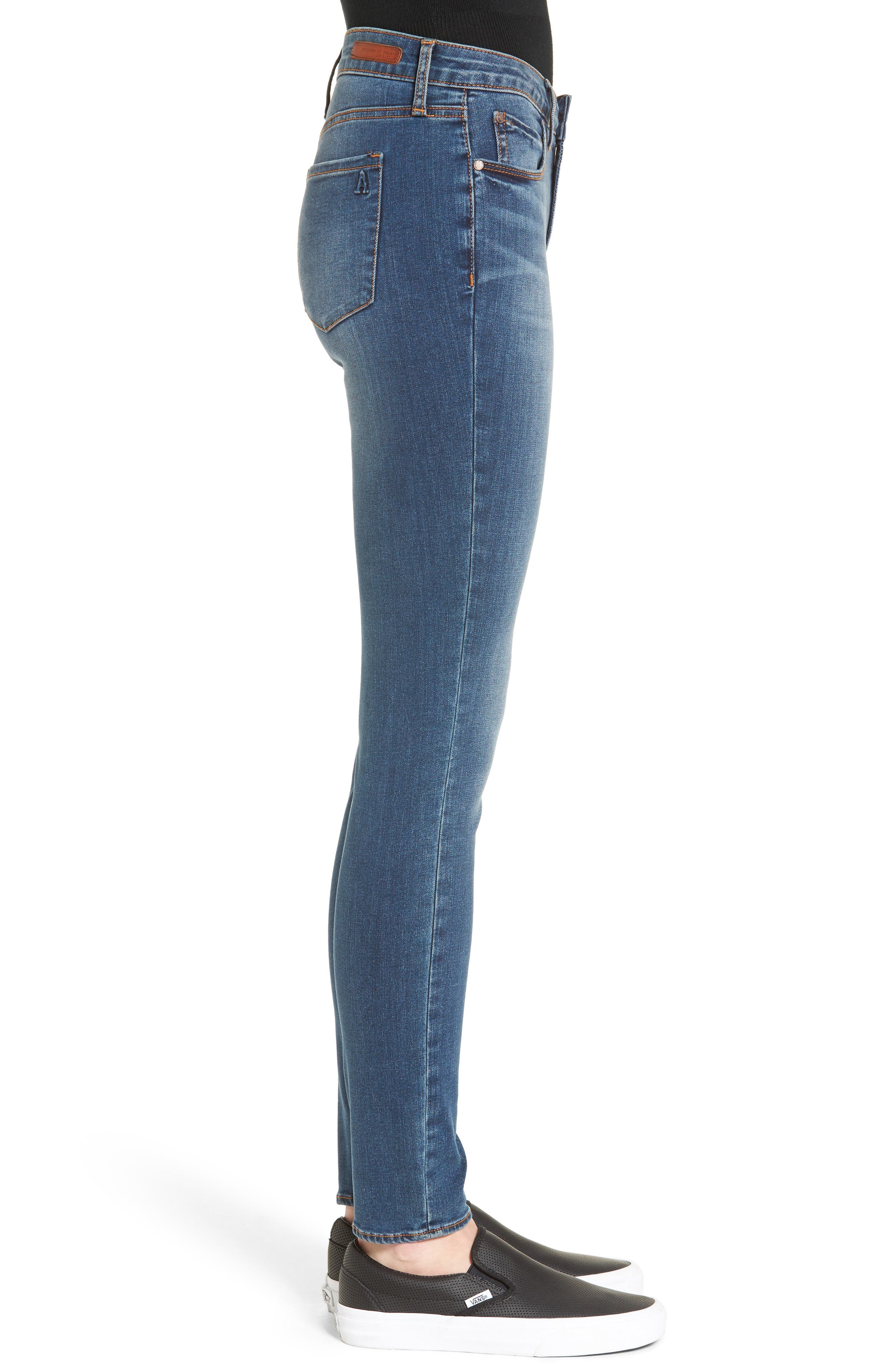 Alternate Image 4  - Articles of Society Sarah Skinny Jeans (Bancroft)