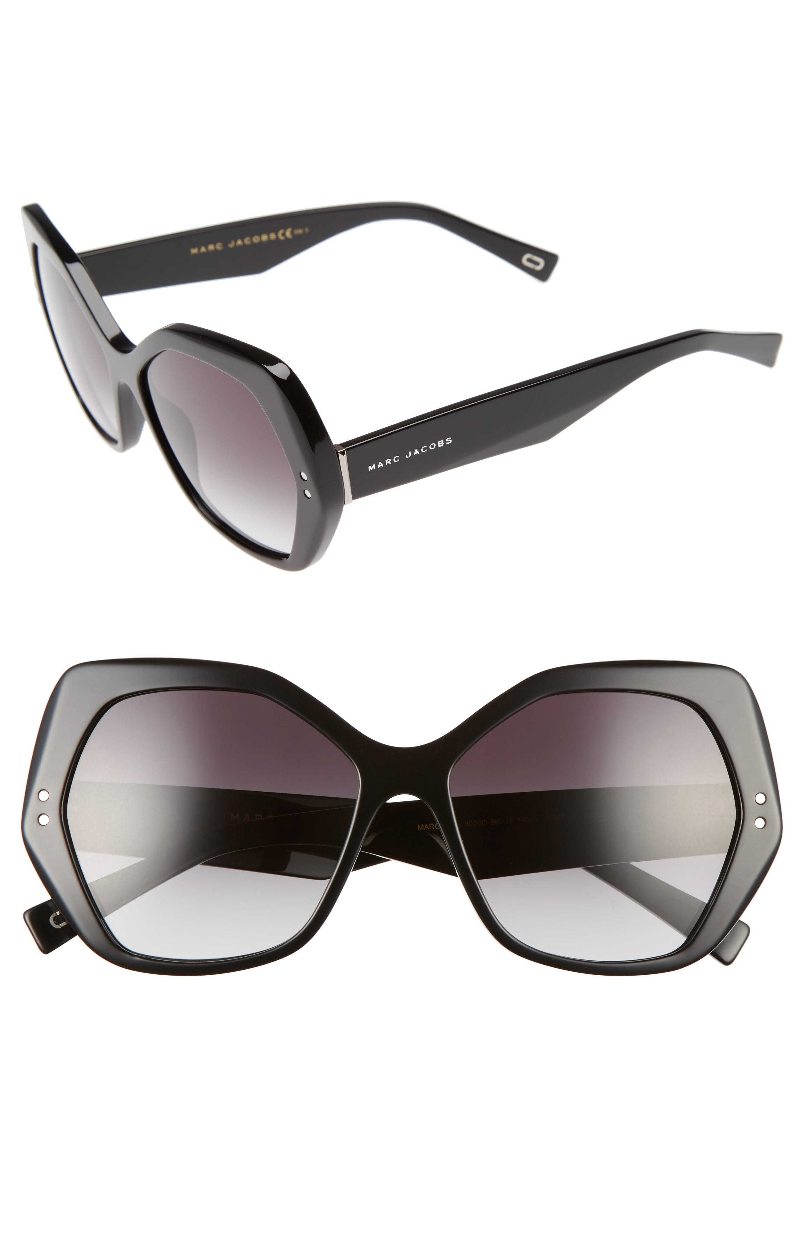 Alternate Image 1 Selected - MARC JACOBS 56mm Sunglasses