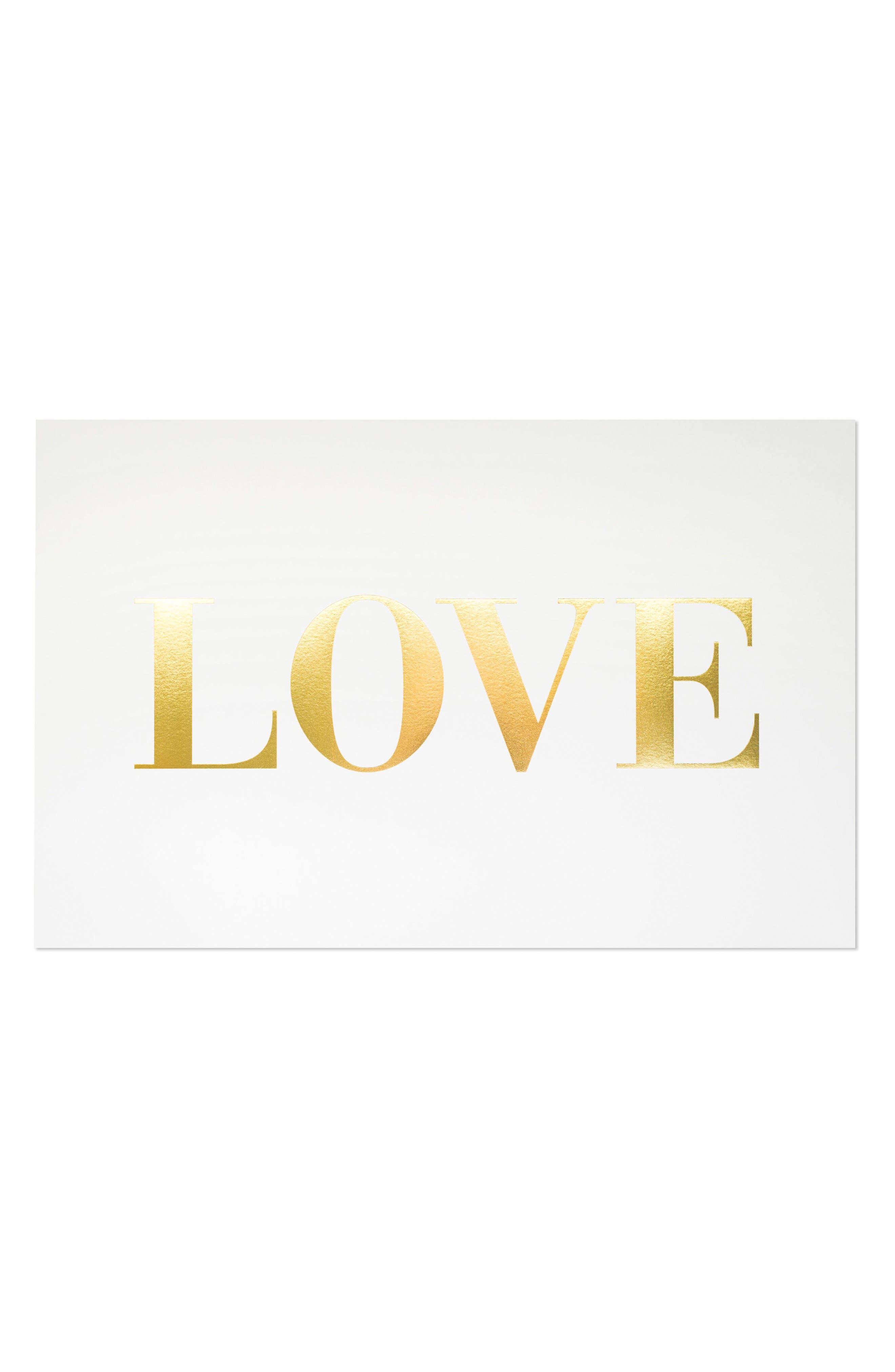 Main Image - sugar paper Love Art Print